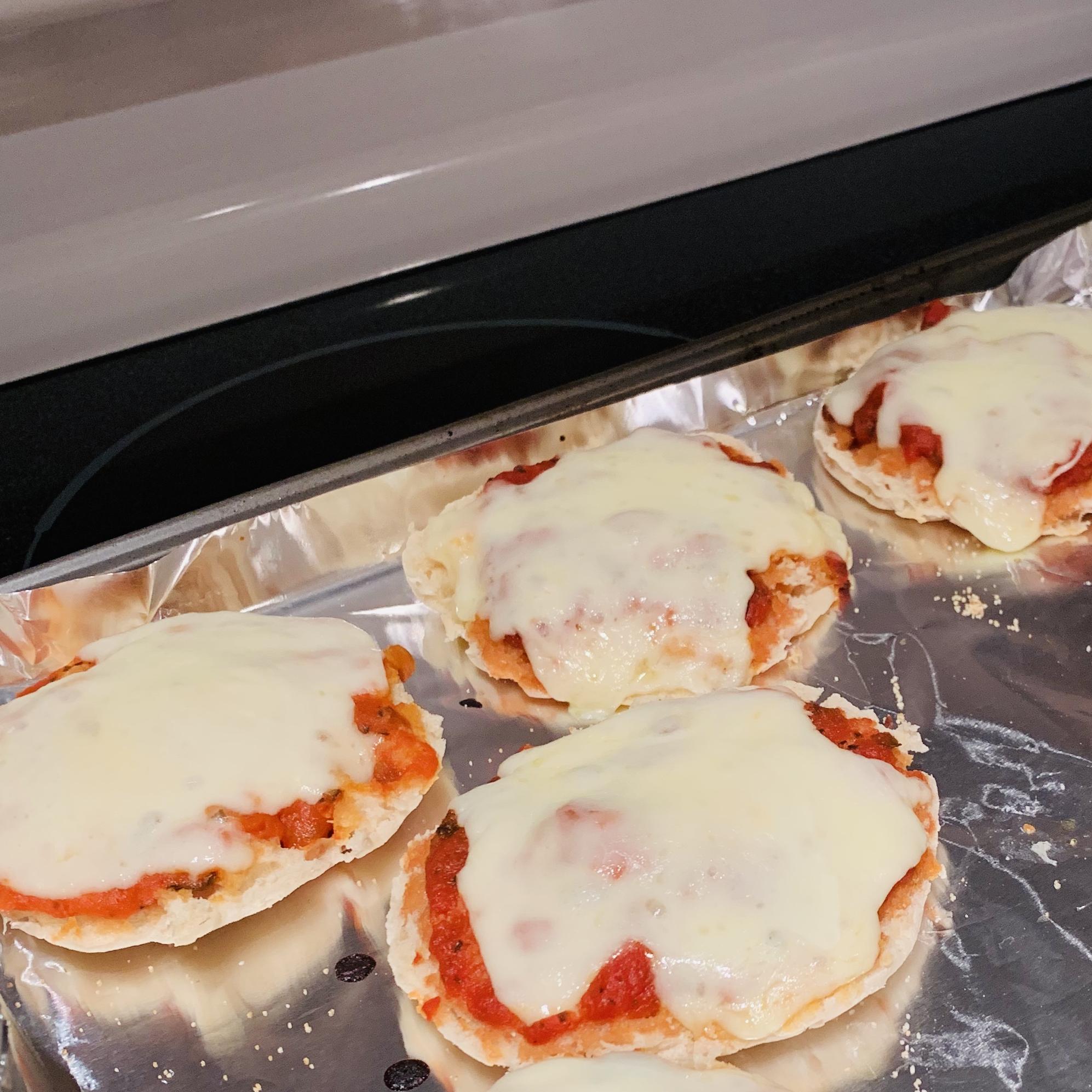 English Muffin Pizza Nettajulle