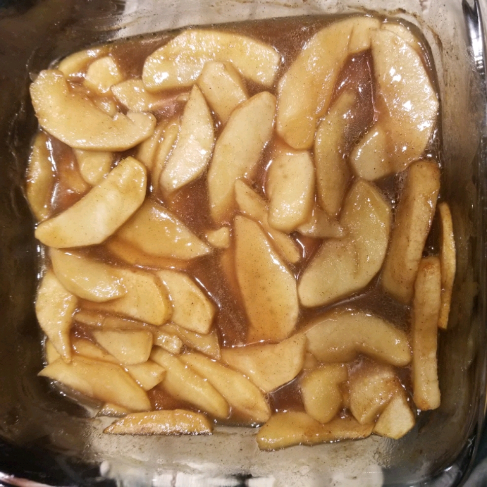 Baked Cinnamon Apples Amy Benningfield