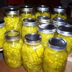 Classic Crisp Bread and Butter Pickles Karen (Giobbe) Carpenter