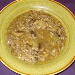 Delicious Mushroom Soup Jewels