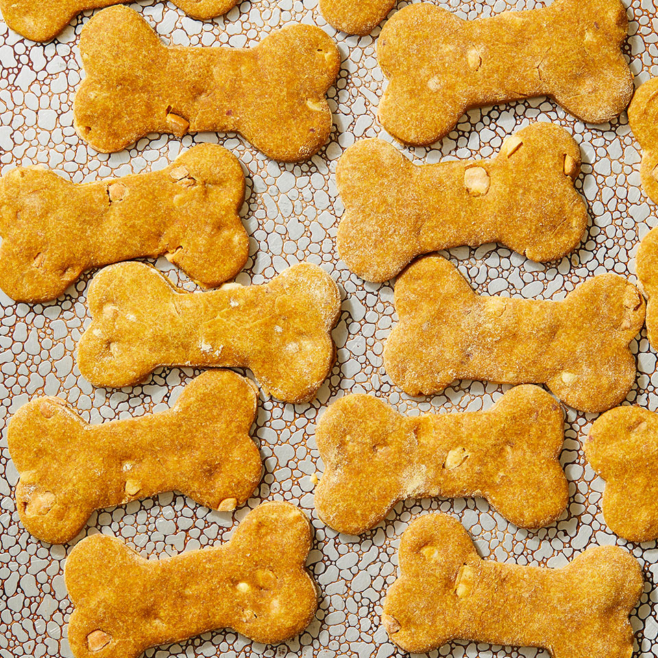 Peanut Butter-Pumpkin Dog Treats