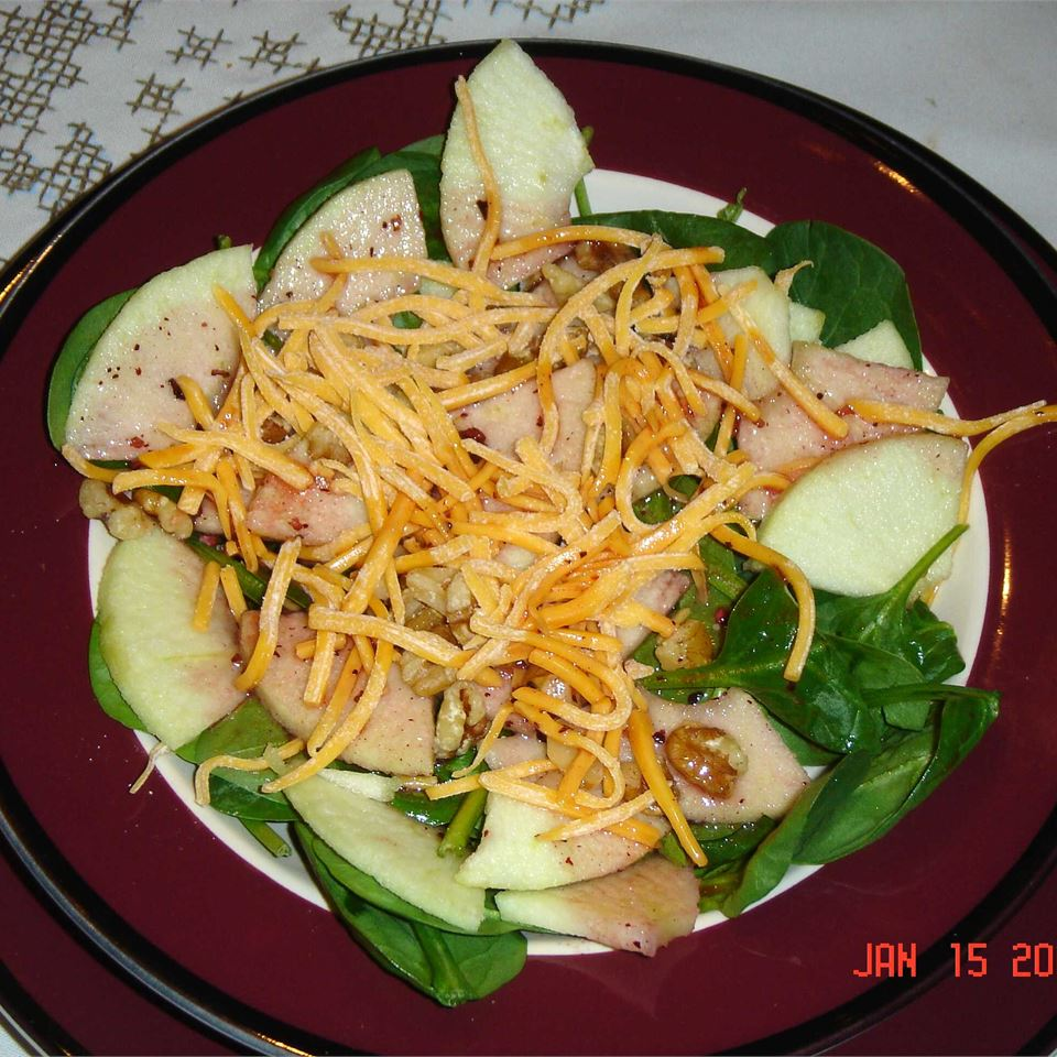 Jackie's Spinach and Apple Salad Ken Heffner