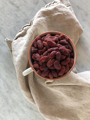 dry red beans in the instant pot recipe