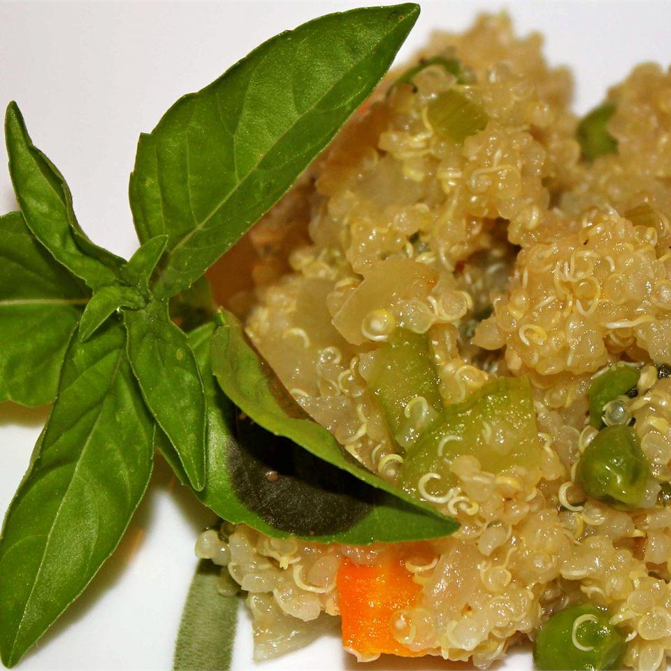 Vegetable Quinoa Pilaf Marisa R.