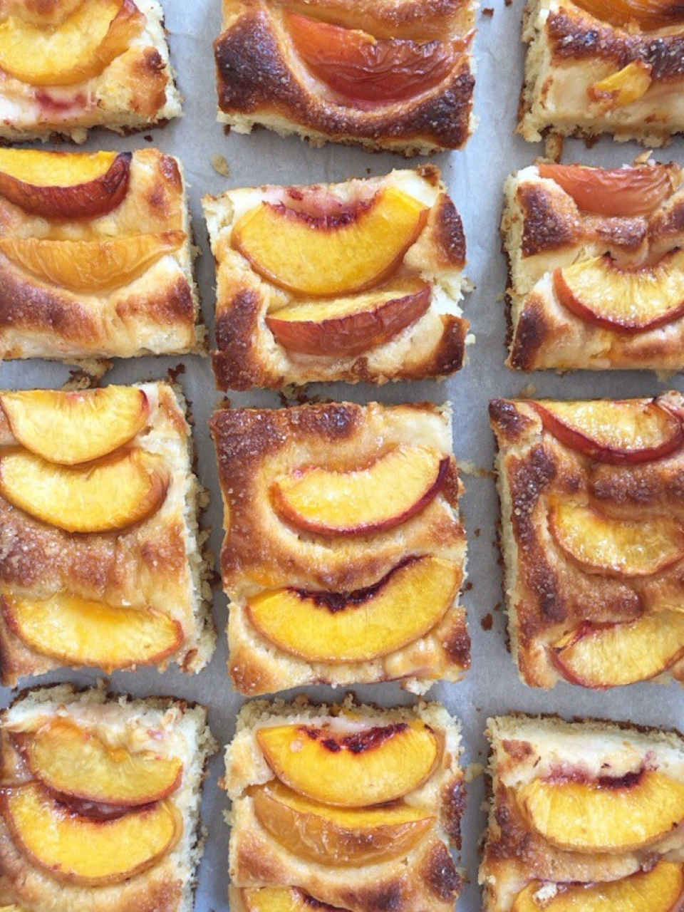 Baltimore Peach Cake LauraF