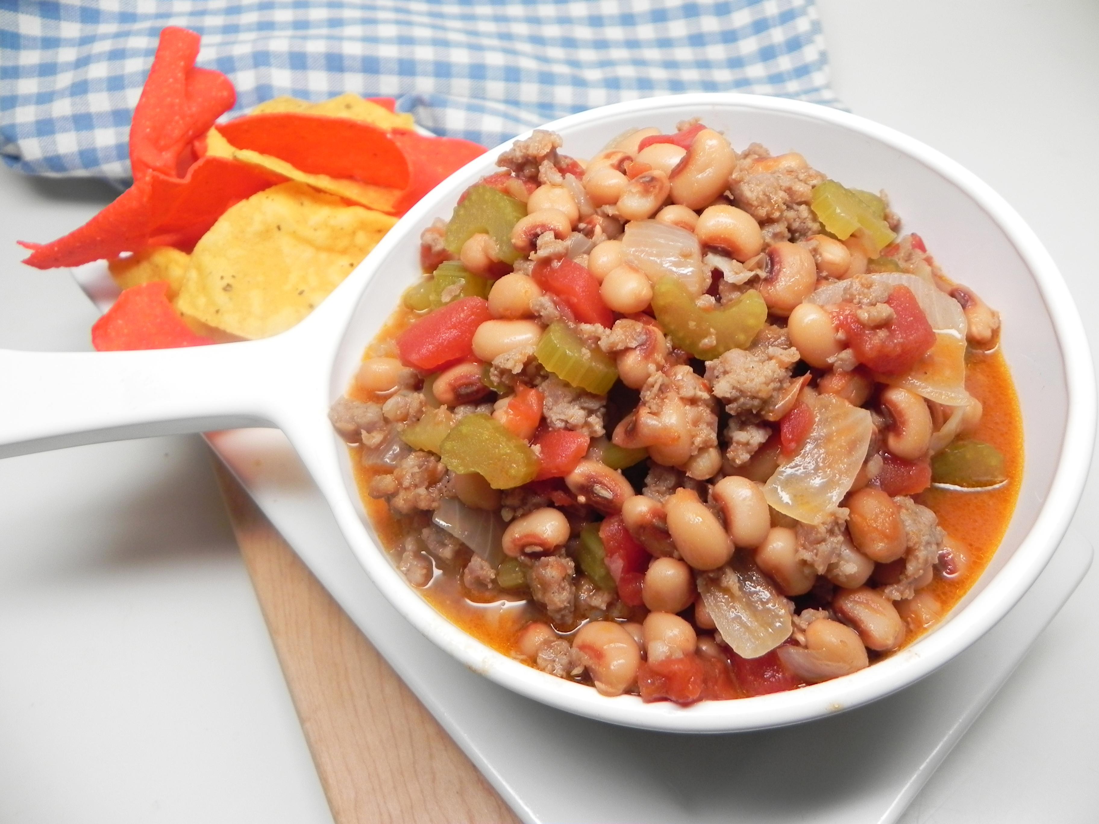 Black-Eyed Pea Sausage Dip