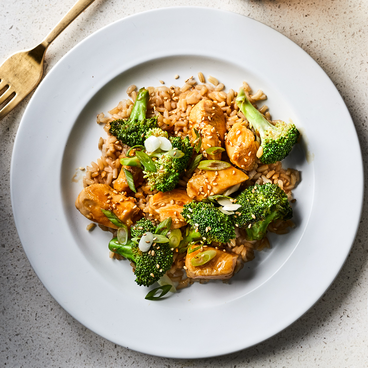 Gluten-Free Teriyaki Chicken with Broccoli