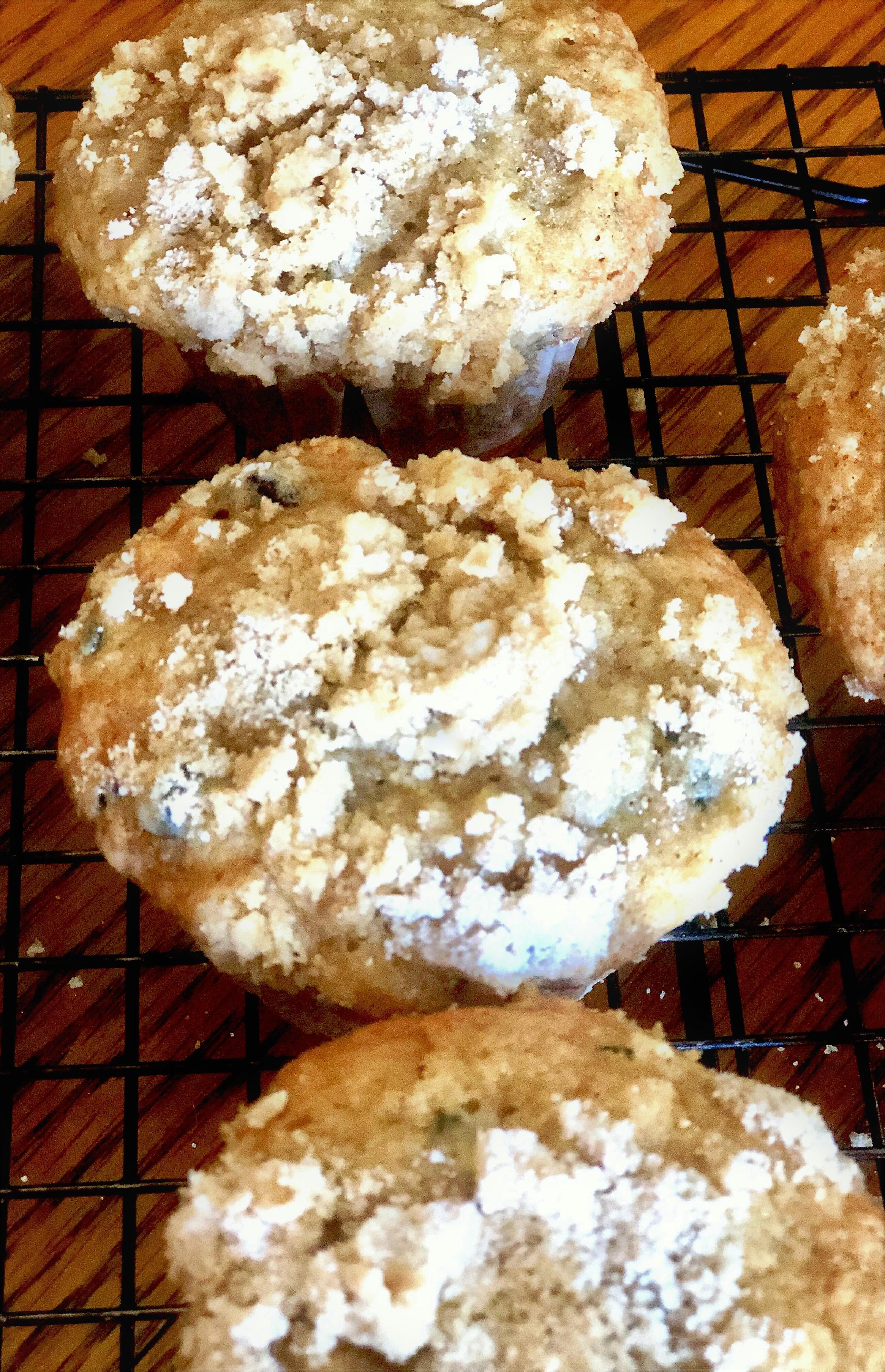 Farm Fresh Zucchini Cranberry Nut Muffins Yoly