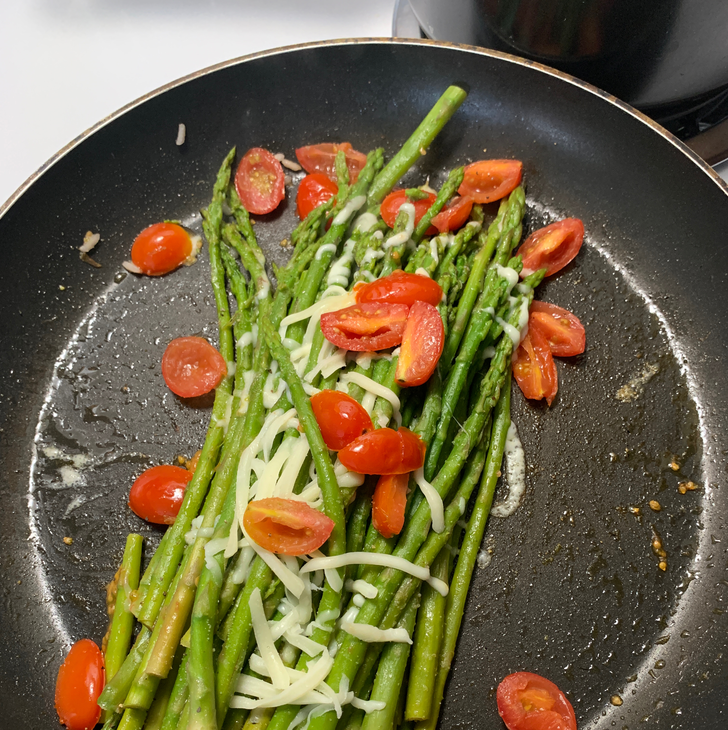 Asparagus with Tomatoes Leea J Rodriguez