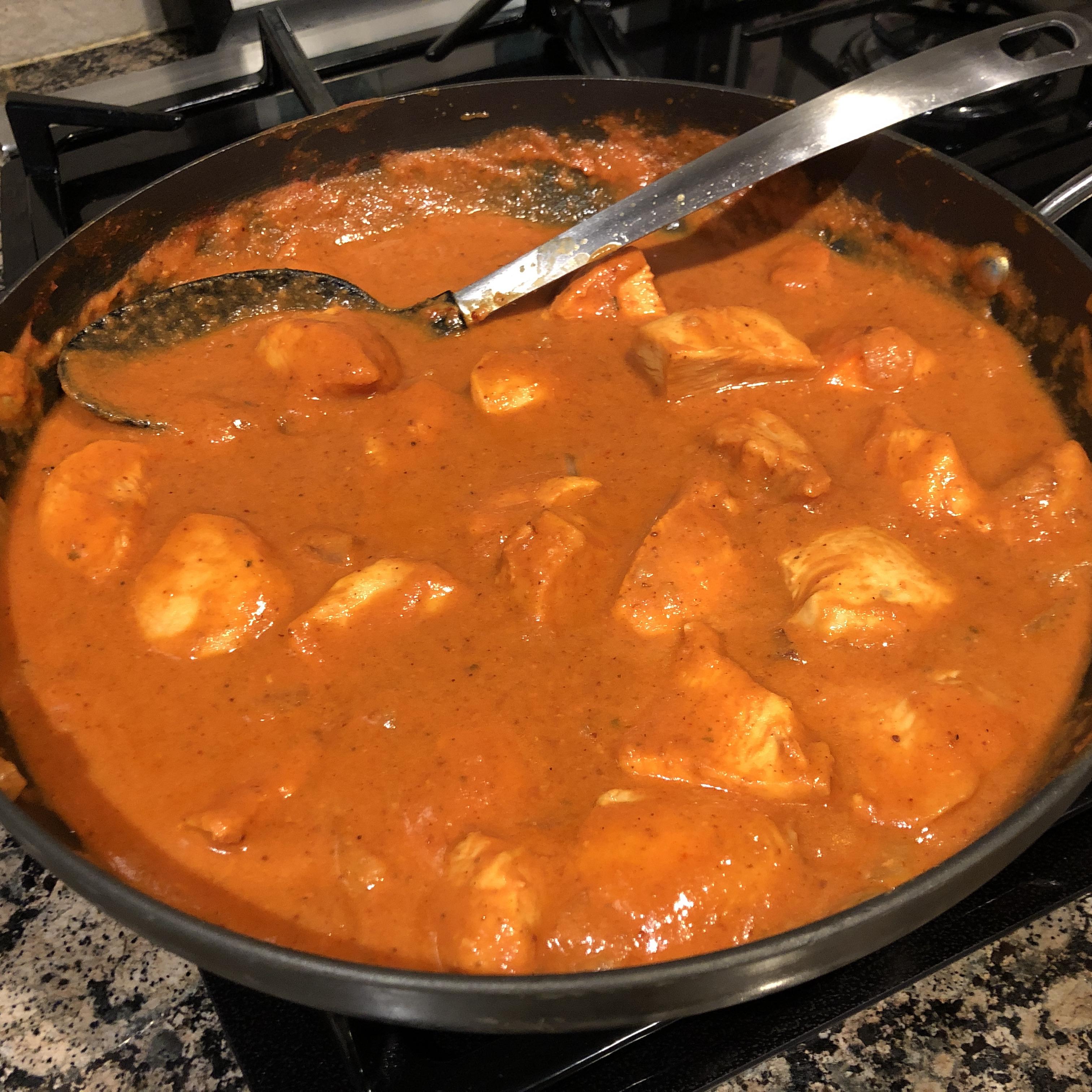 Indian Chicken Tikka Masala Alli Winn Hemingway