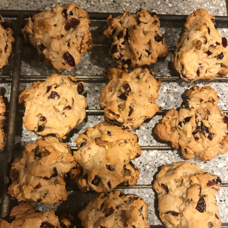 Cranberry Walnut Cookies Tina Marie DeFinis
