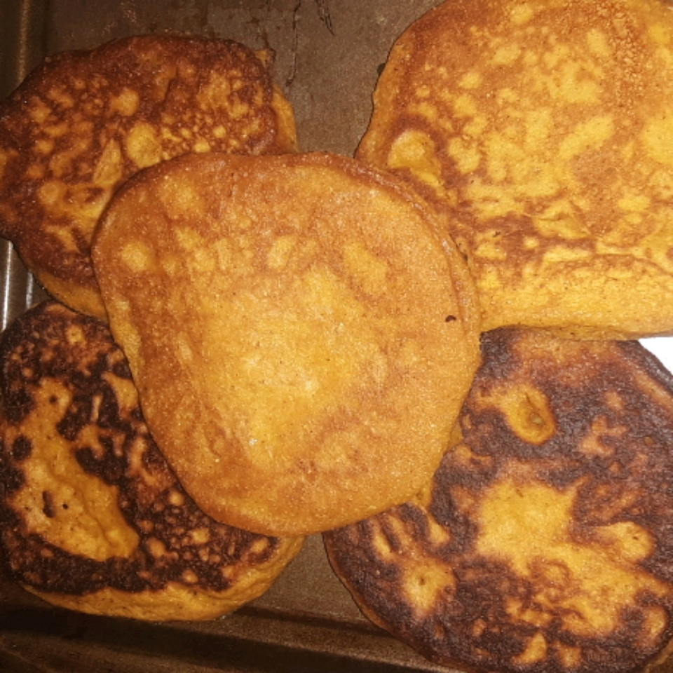 Pumpkin Cornmeal Pancakes Nancy Cramer