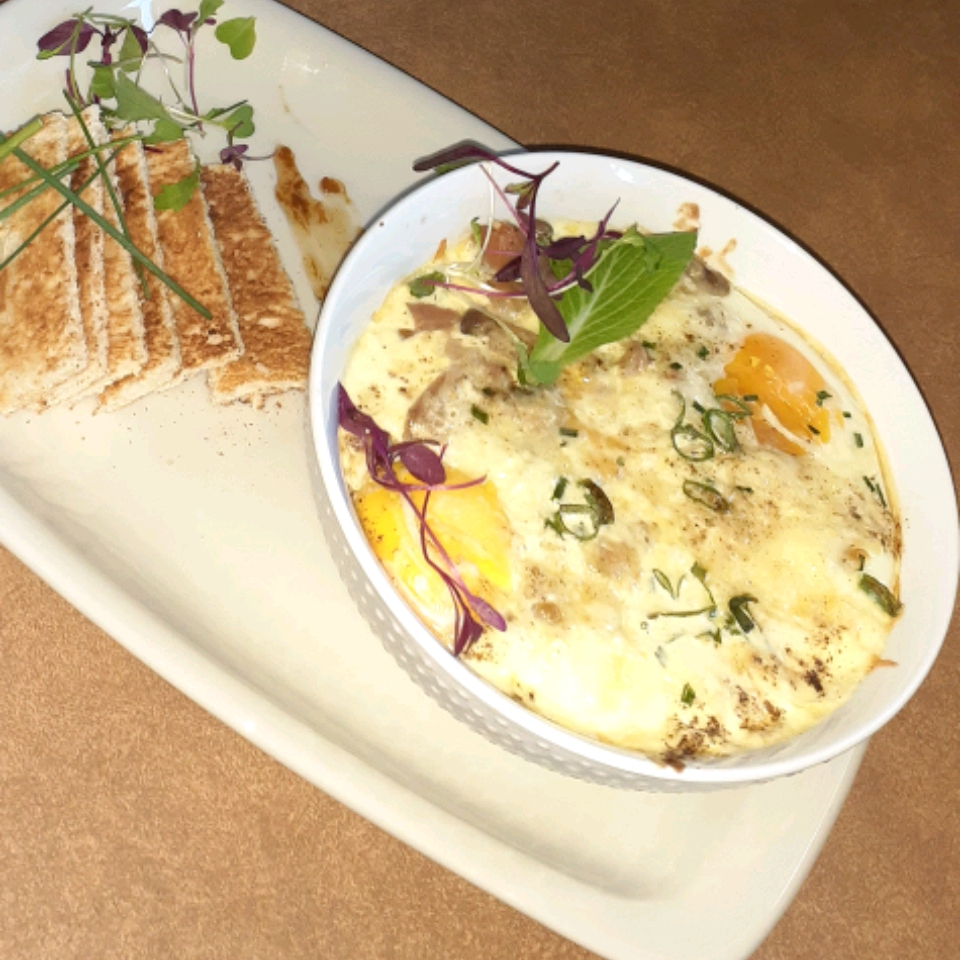 Oeufs Cocotte (Baked Eggs)