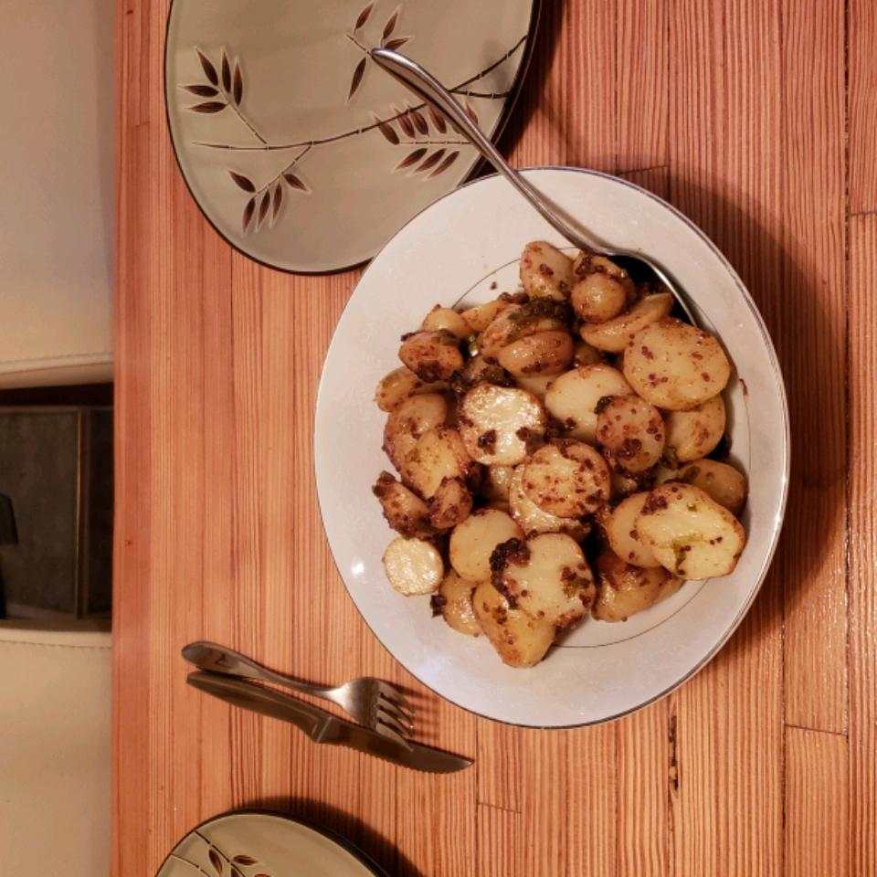 Honey-Mustard Roasted Potatoes Bradley Vandevis