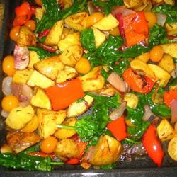 Balsamic Roasted Vegetable Salad kat