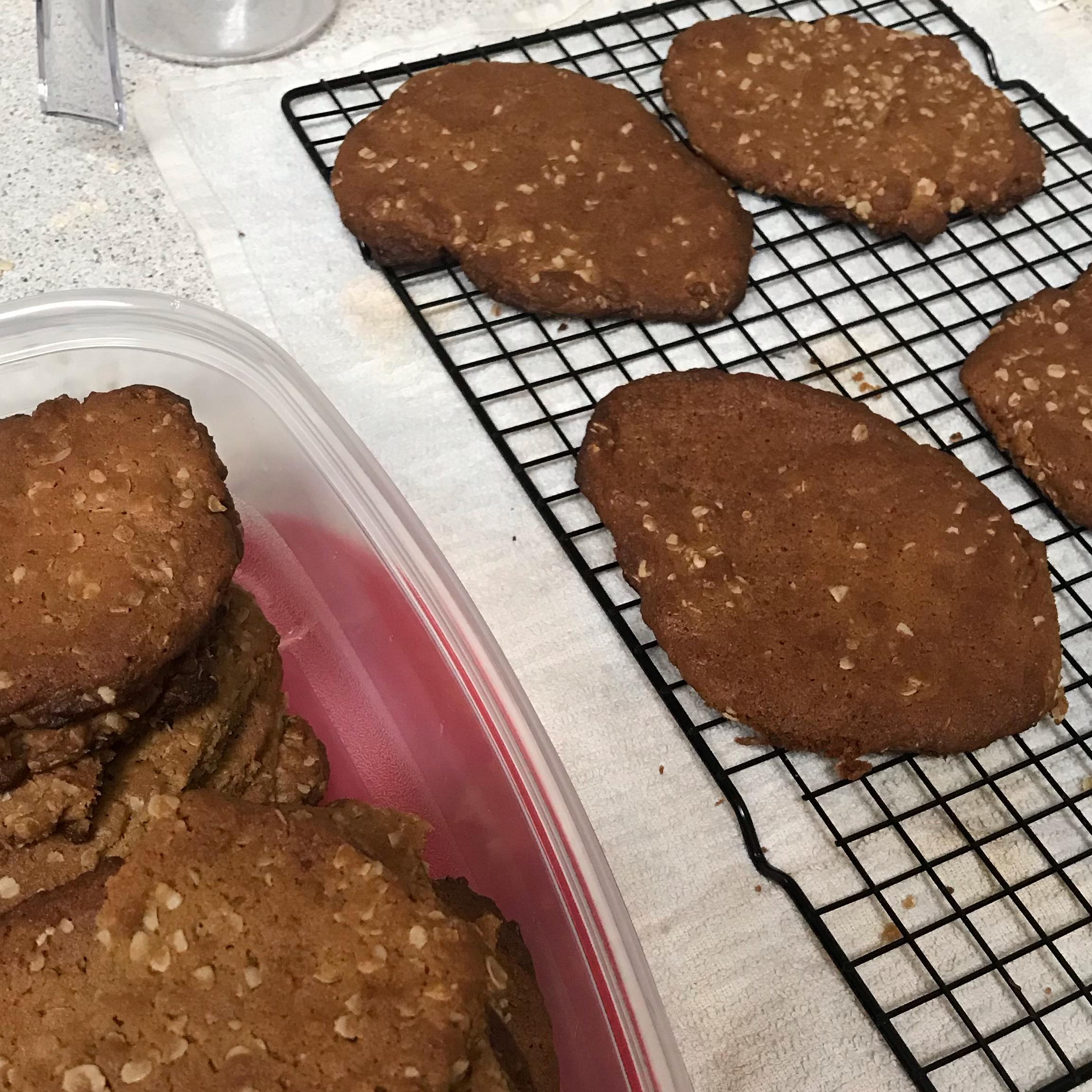 Oatmeal Peanut Butter Cookies Phillip Trieu
