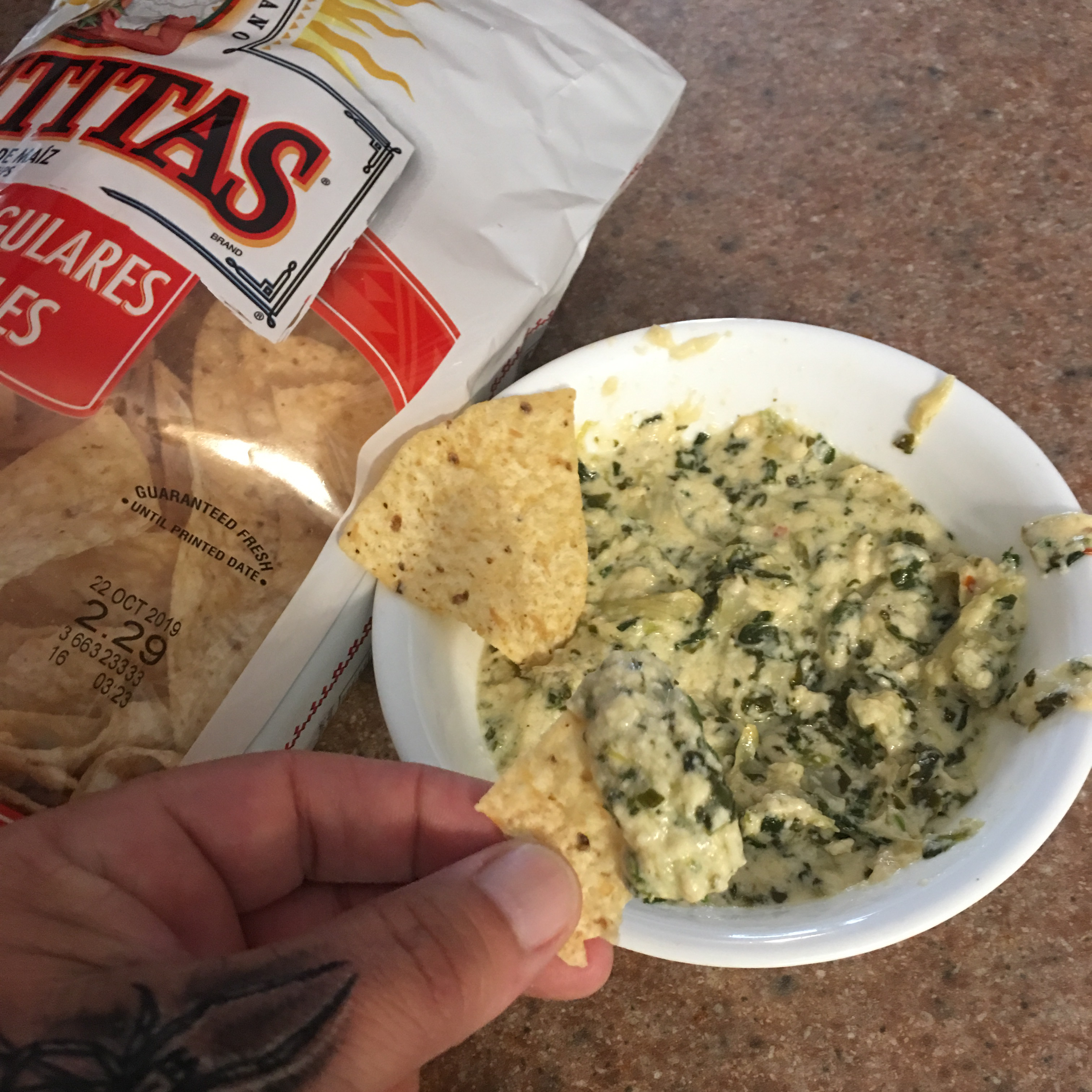 Instant Pot® Spinach and Artichoke Dip