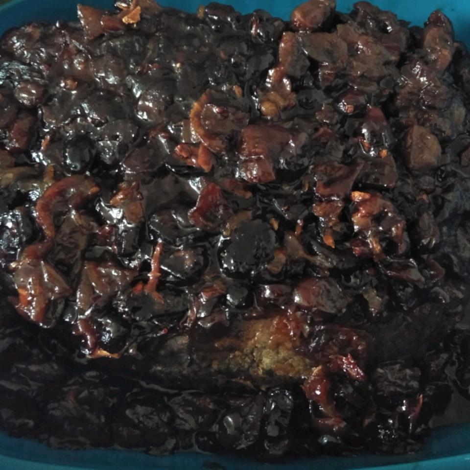 Cranberry Brisket