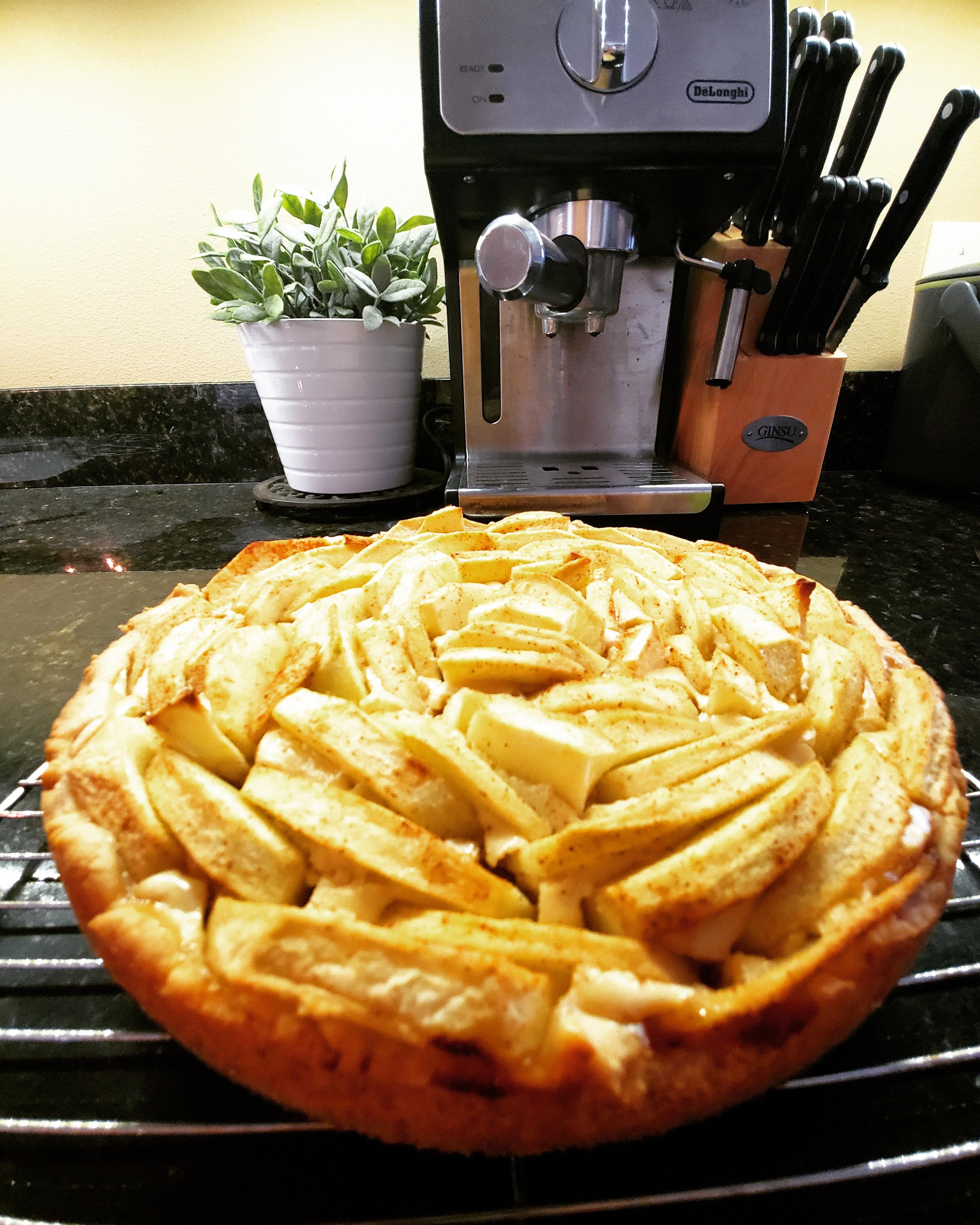 PHILLY Bavarian Apple Torte Philadelphia
