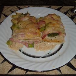 Asparagus Lasagna Baricat