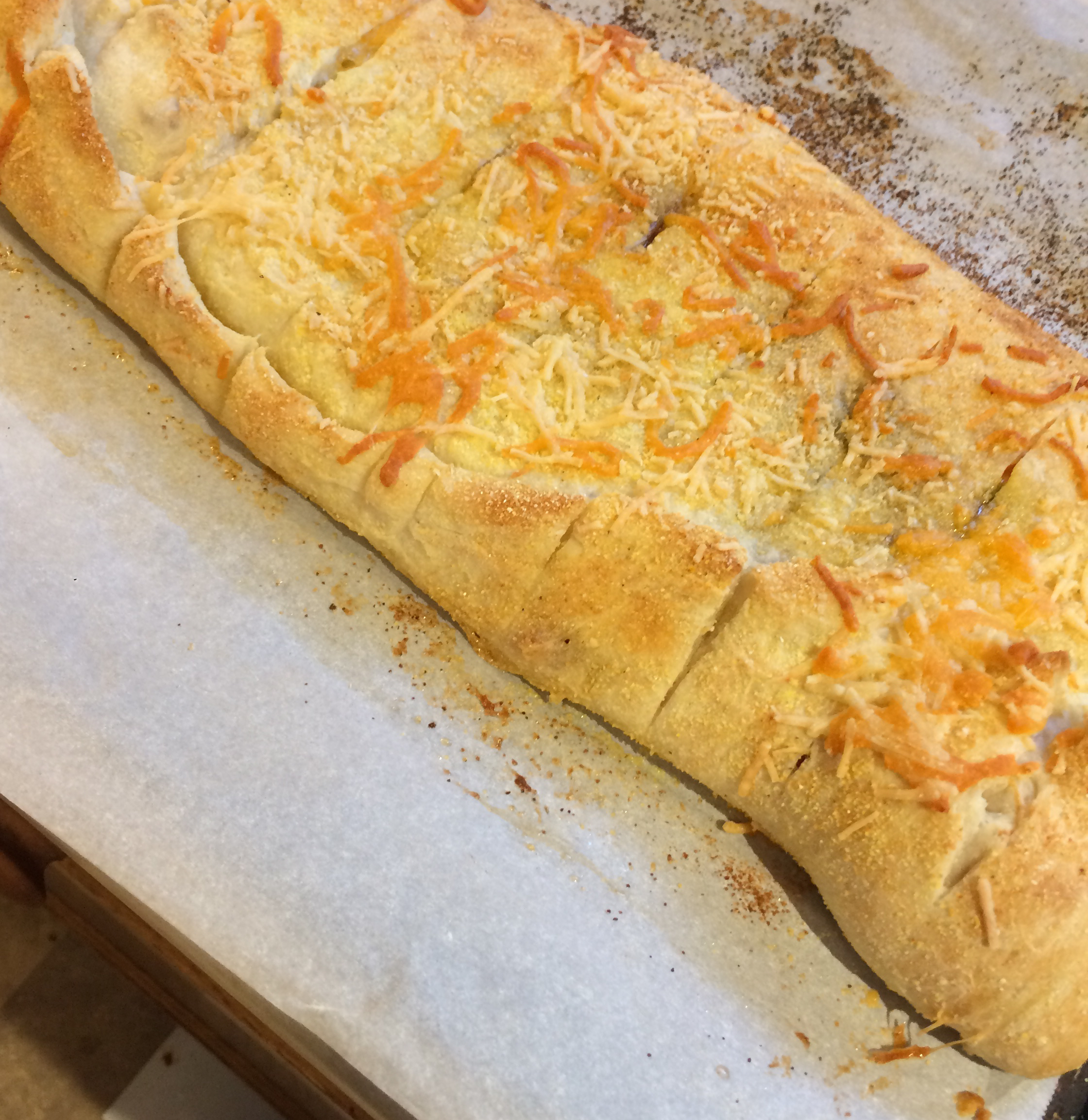 Easy, Breezy, Cheesy Stuffed Bread (Domino's® Copycat Recipe)