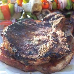 Coriander and Cumin Rubbed Pork Chops Sarah-May