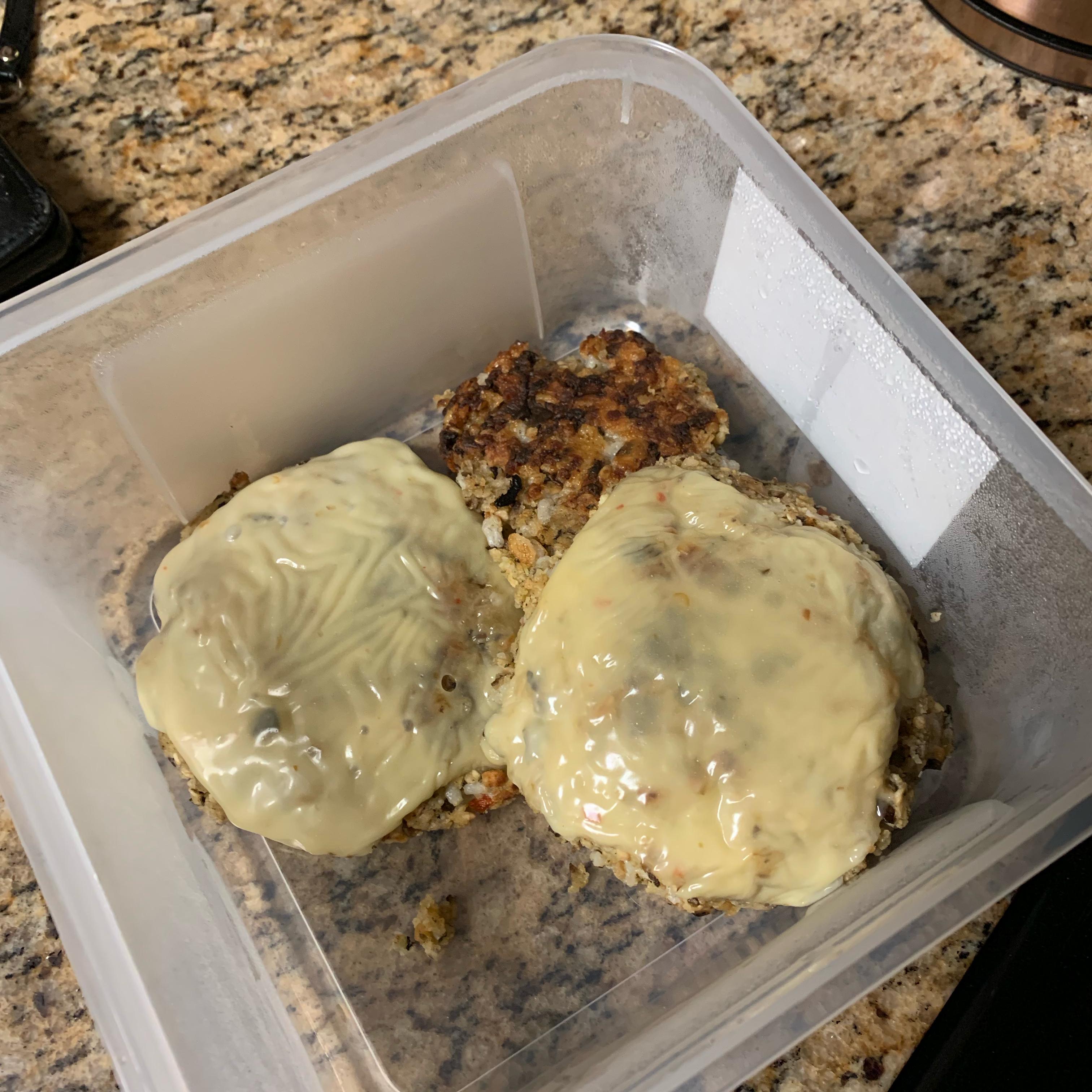 Mushroom Veggie Burger Lei Michelle BrandNew Jordan