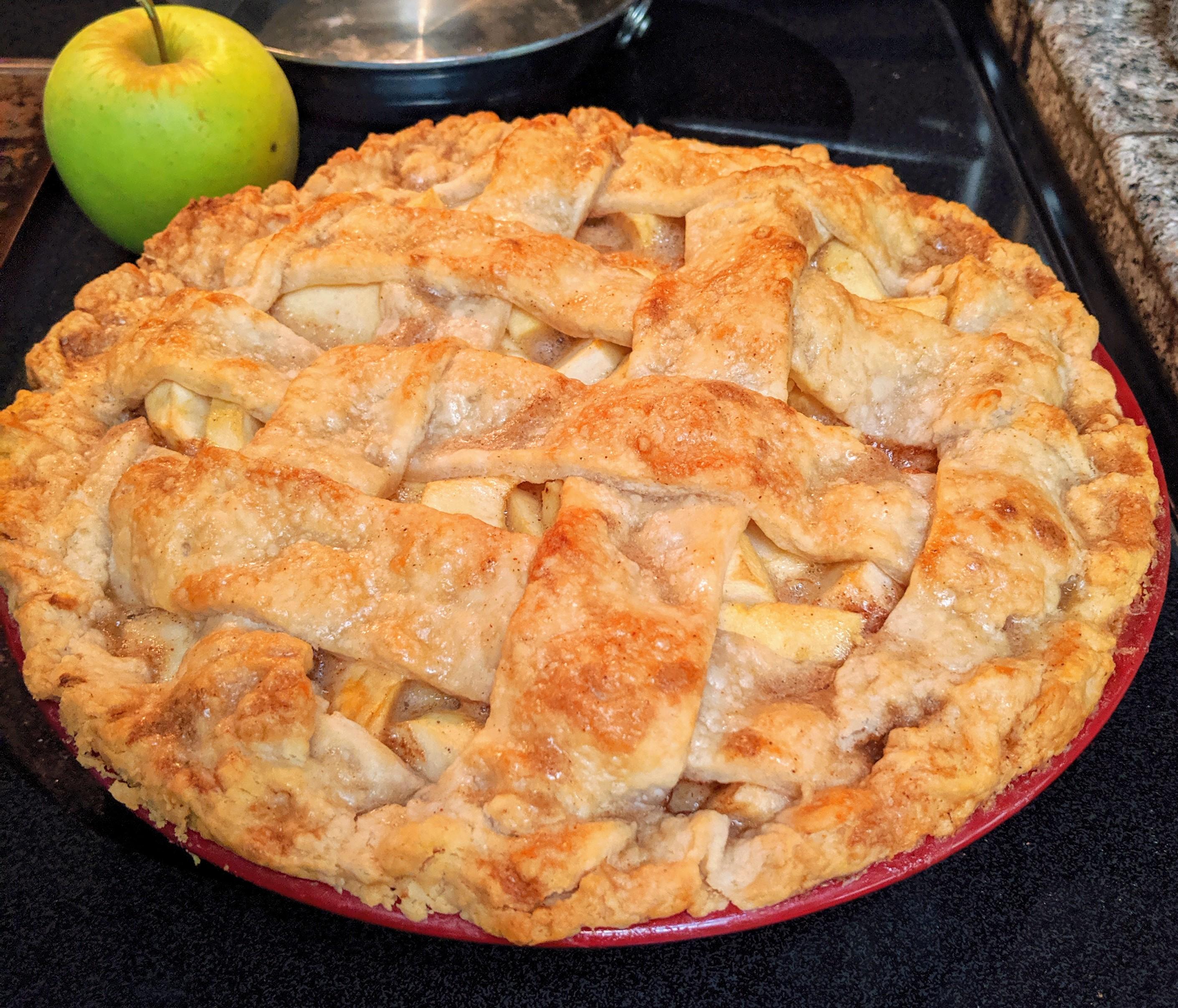 Chef John's Caramel Apple Pie Tim Dougherty