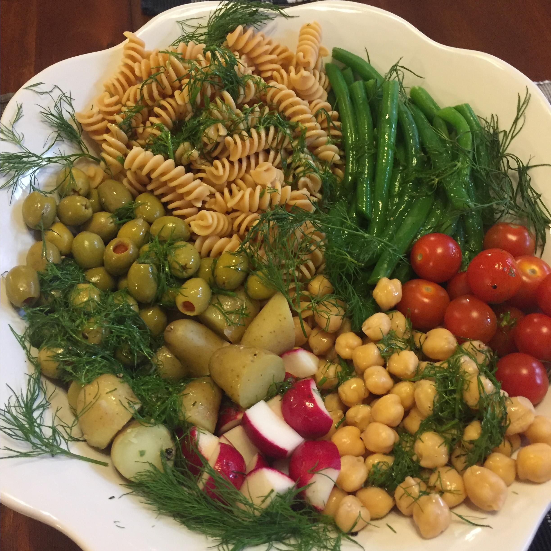 Vegan Dill Pasta Salad