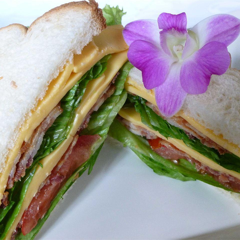 Amy's Triple Decker Turkey Bacon Sandwich OkinawanPrincess