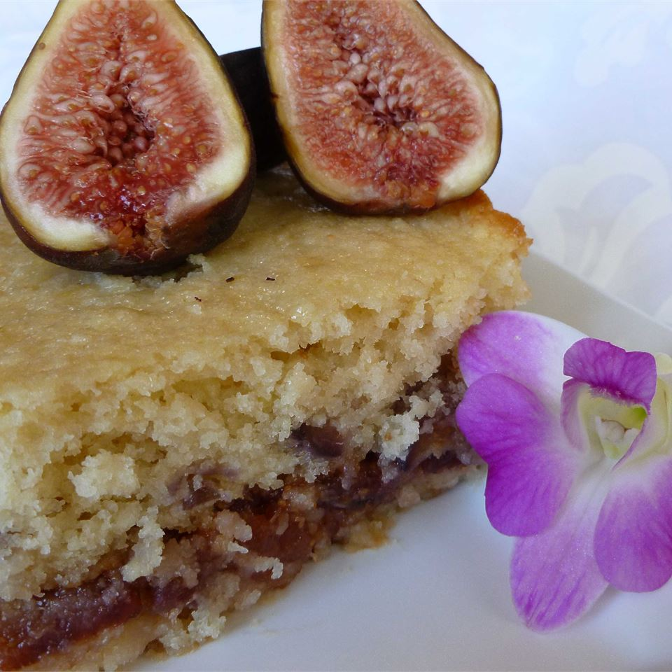Fresh Fig Cake OkinawanPrincess