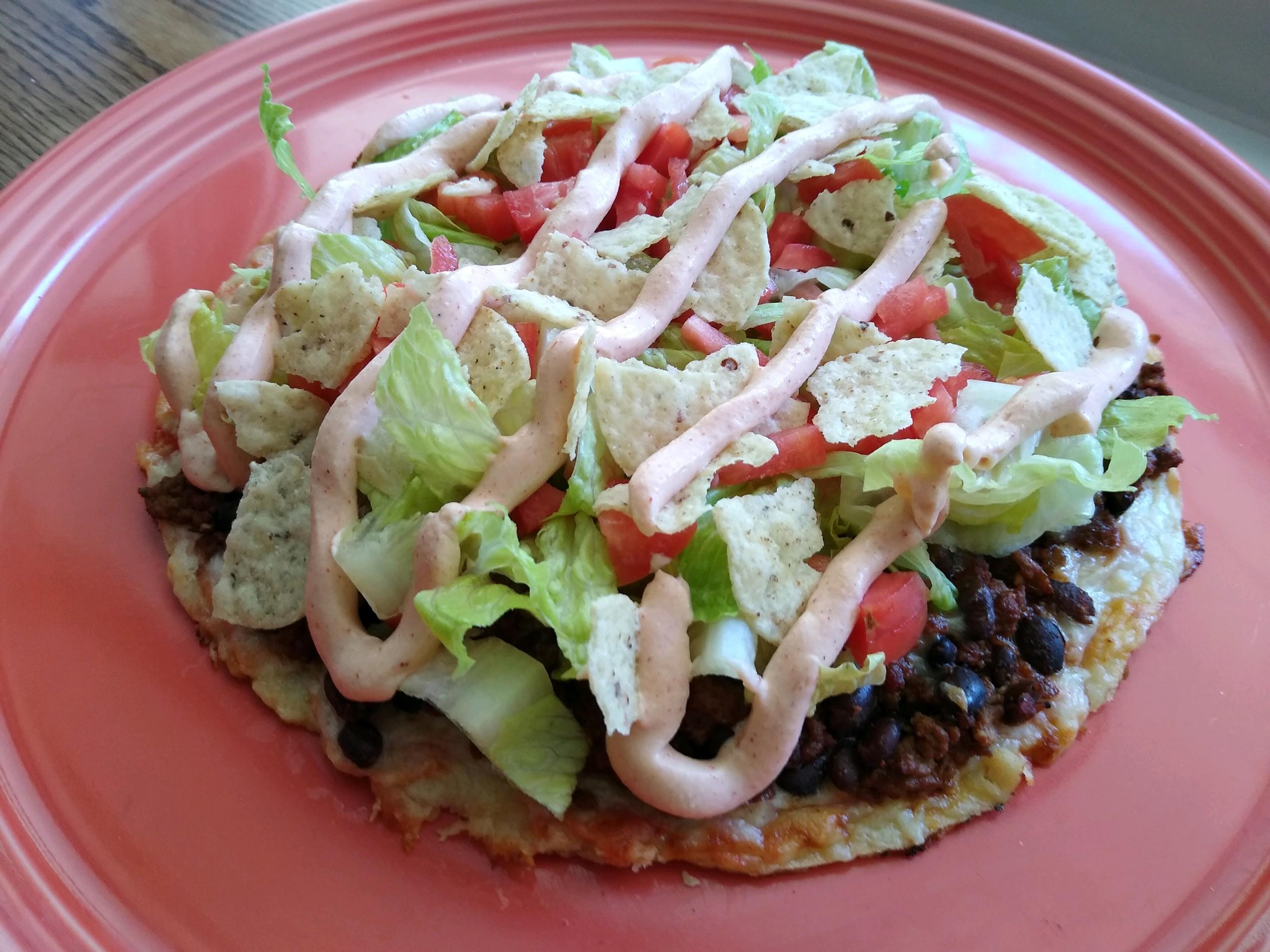Taco Salad Pizza