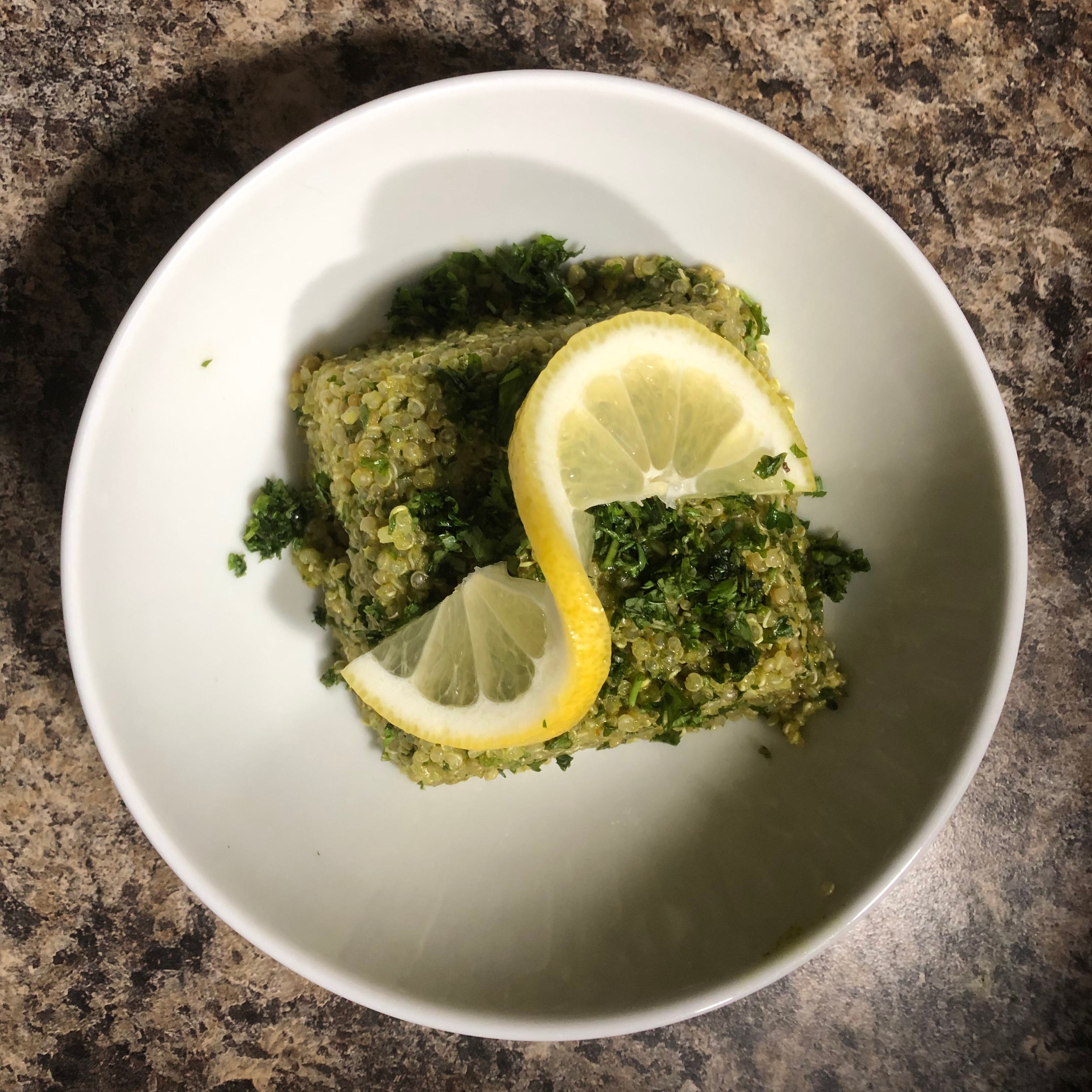 Green Quinoa Tabbouleh Rob Ponto