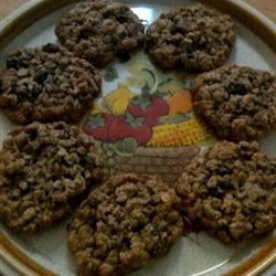 Kristen's Awesome Oatmeal Cookies