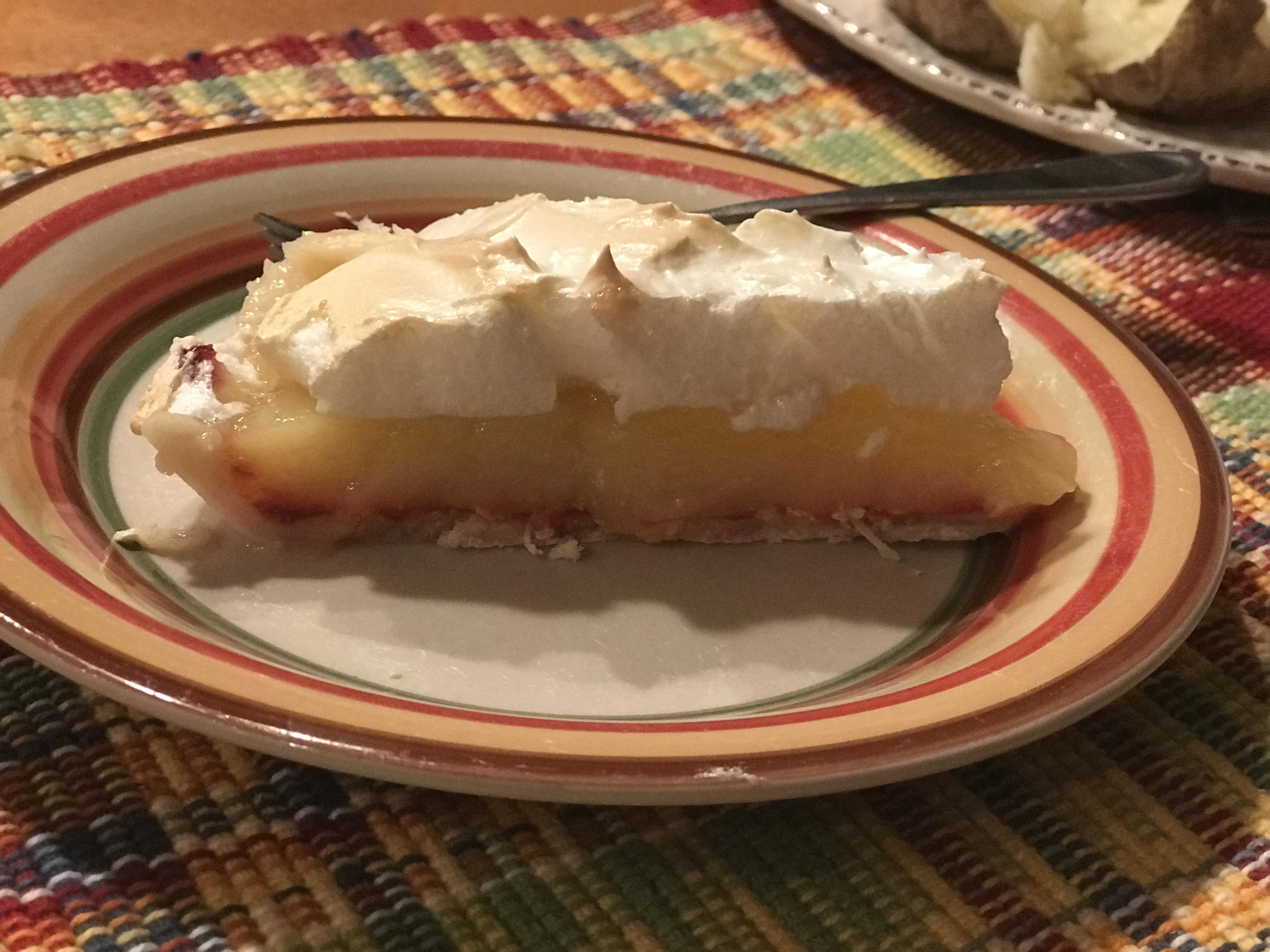 Raspberry Lemon Meringue Pie Fehr Brenda