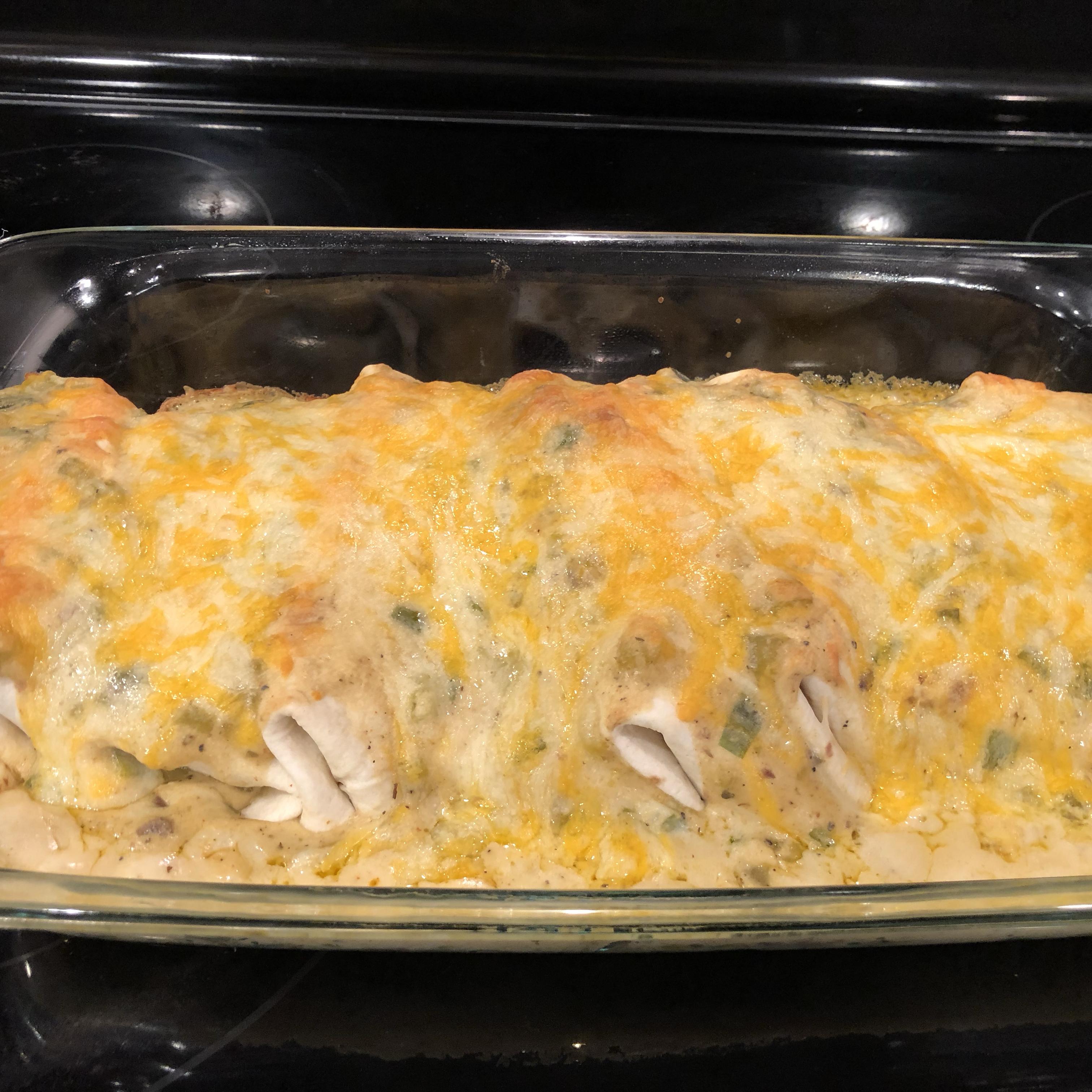 Heather's Beef Enchiladas