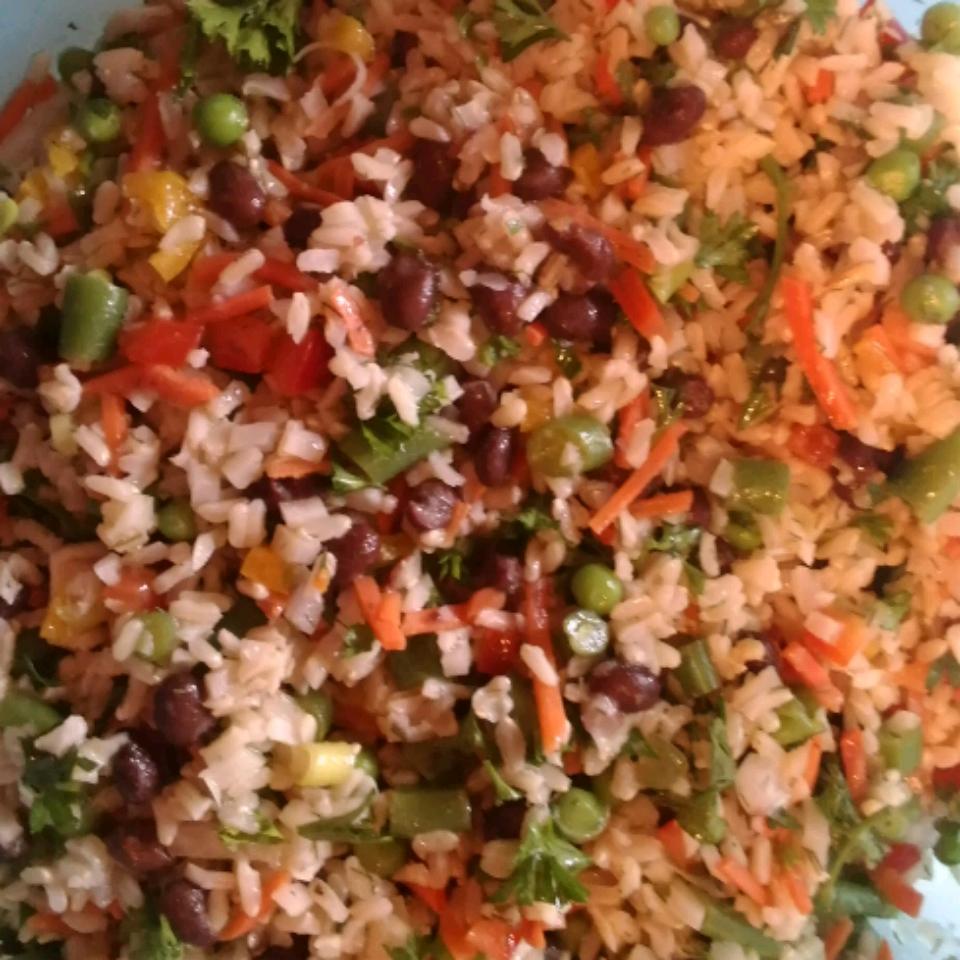 Confetti Rice Salad Jennifer DeGroff
