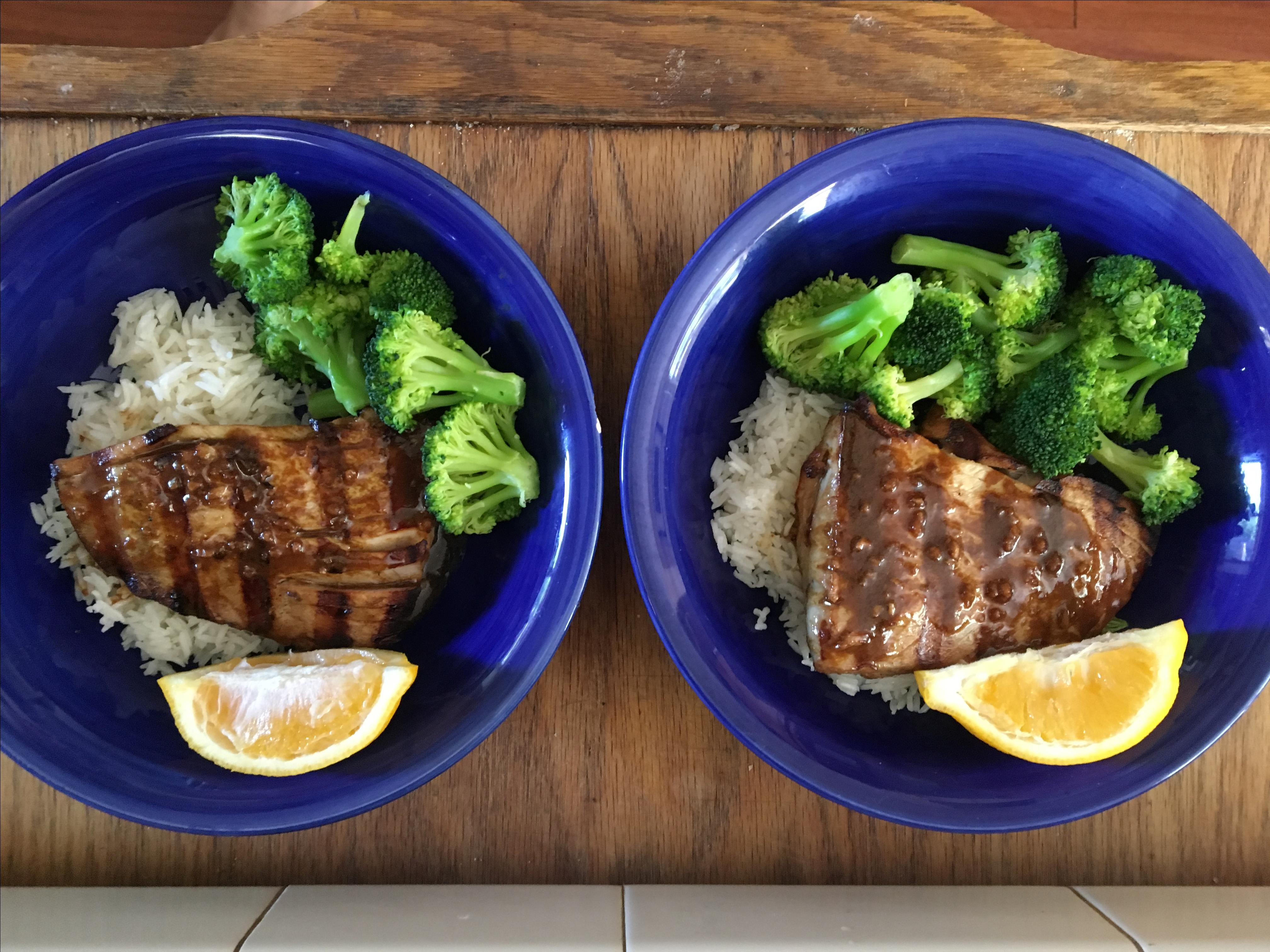 Grilled Yellowfin Tuna with Marinade Denise Fitzgerald