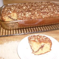 Cinnamon Coffee Cake I pennycandy