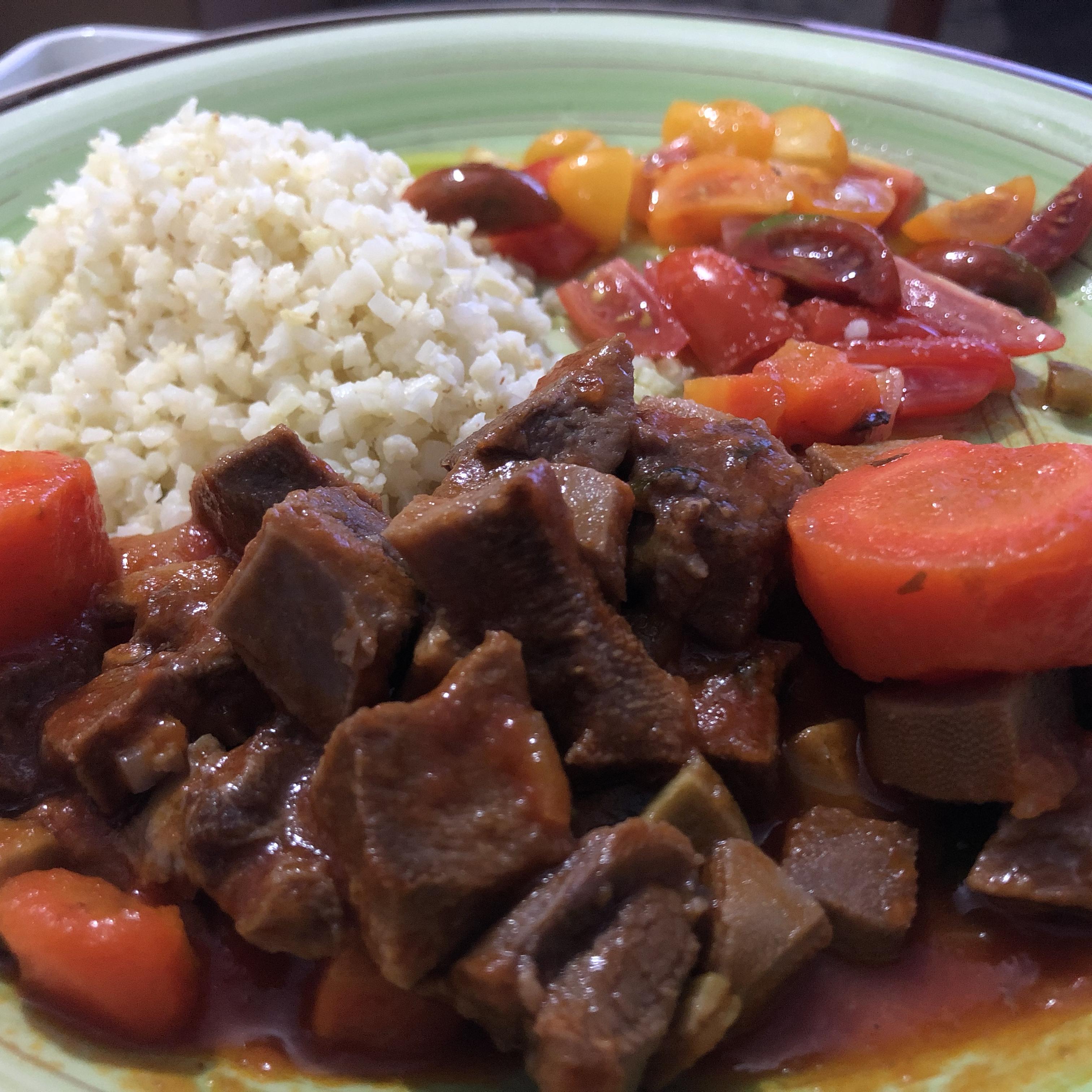 Lengua (Beef Tongue) Stew Michelle Martinez