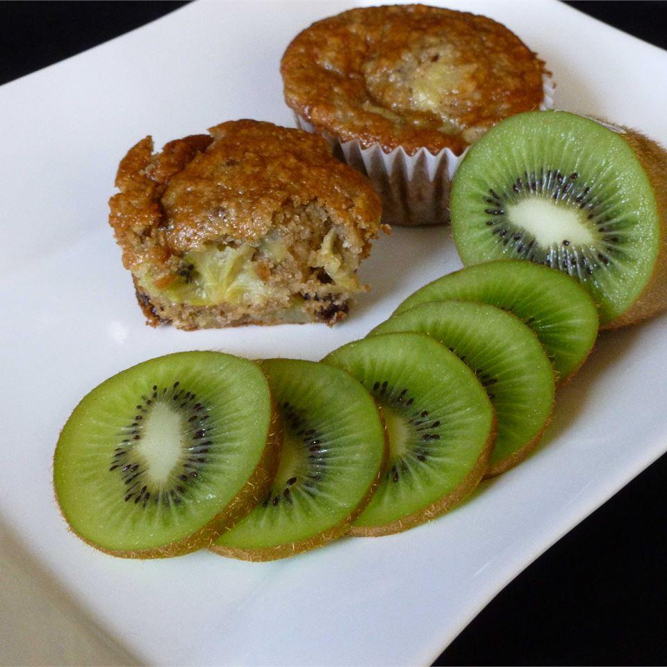 Kiwifruit Muffins OkinawanPrincess