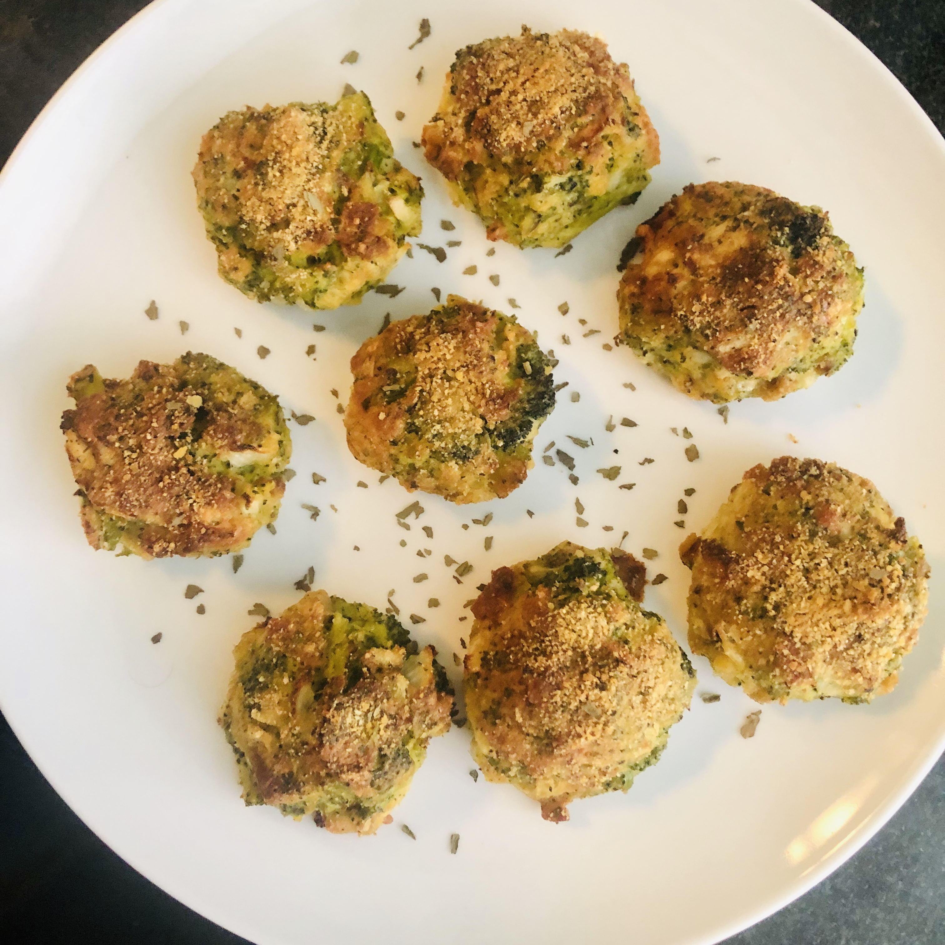 Parmesan Broccoli Balls Will NYC