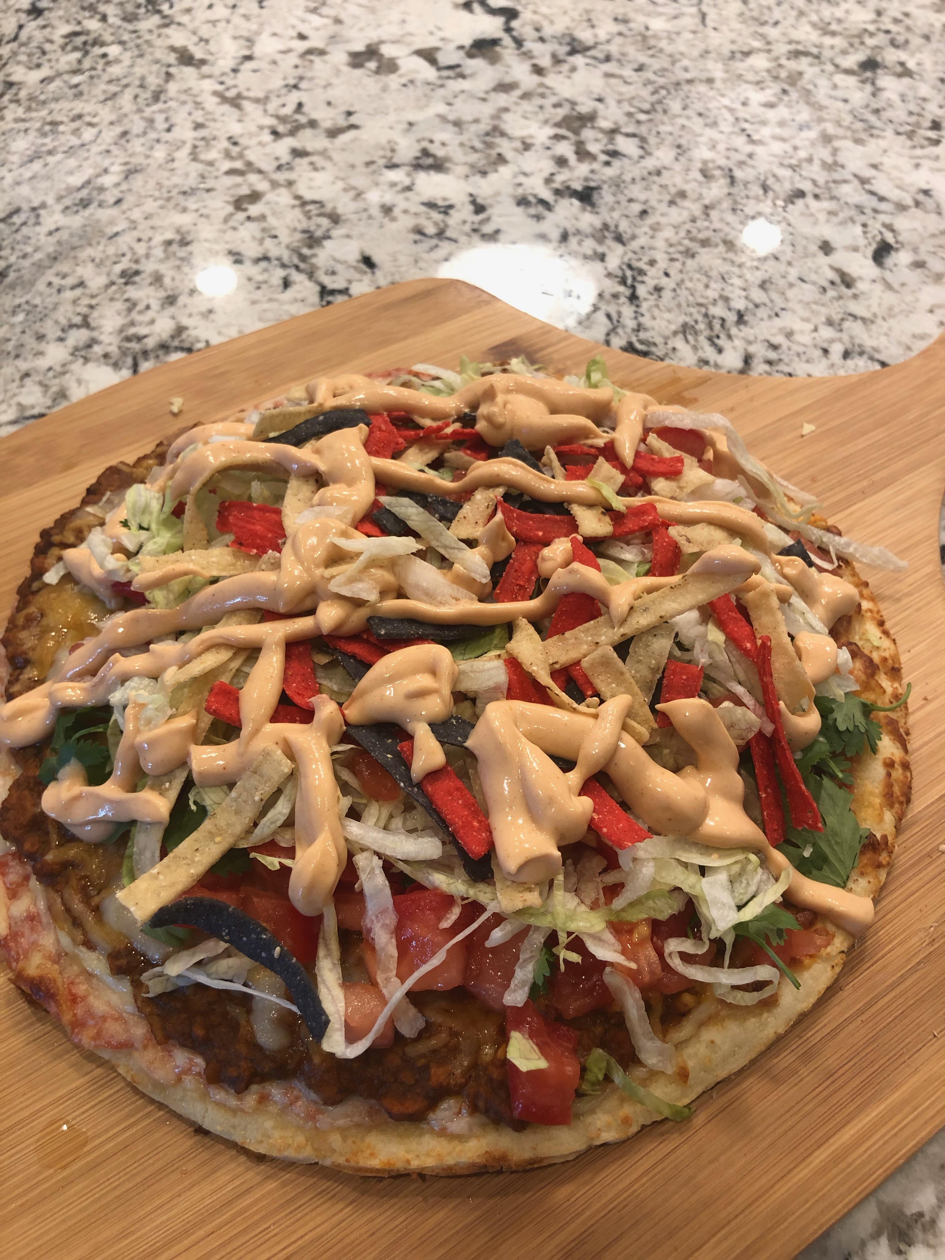Taco Salad Pizza Terri Frank Ramseyer