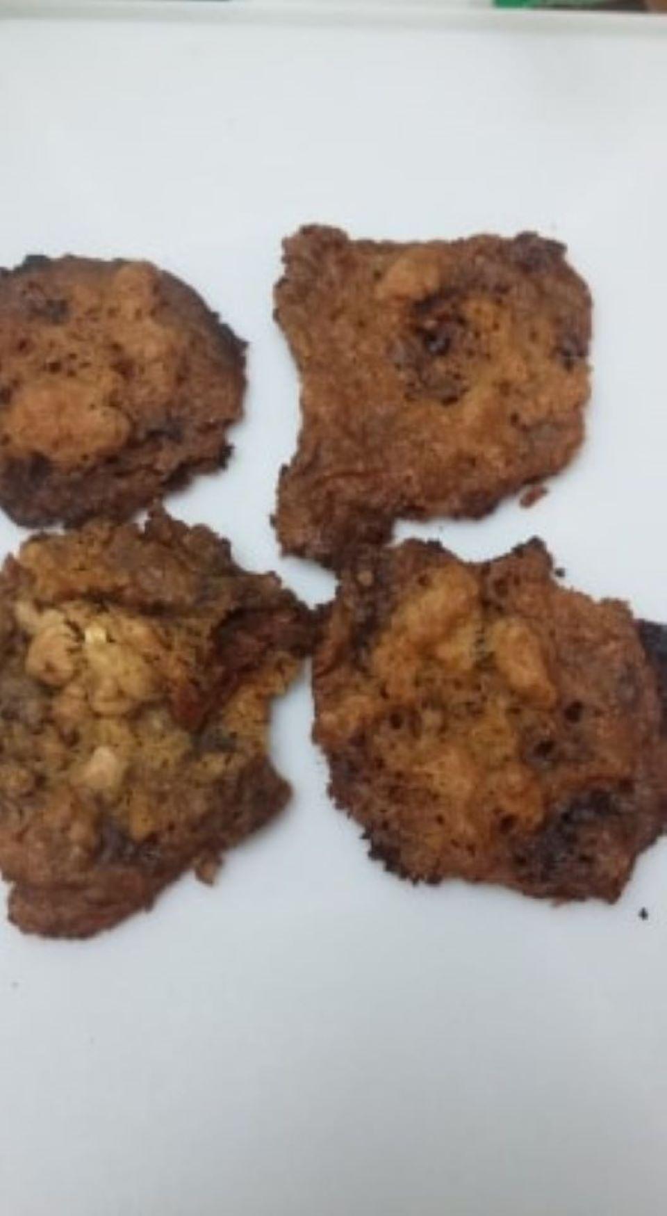 Granola-Chocolate Cookies Danette Duffy