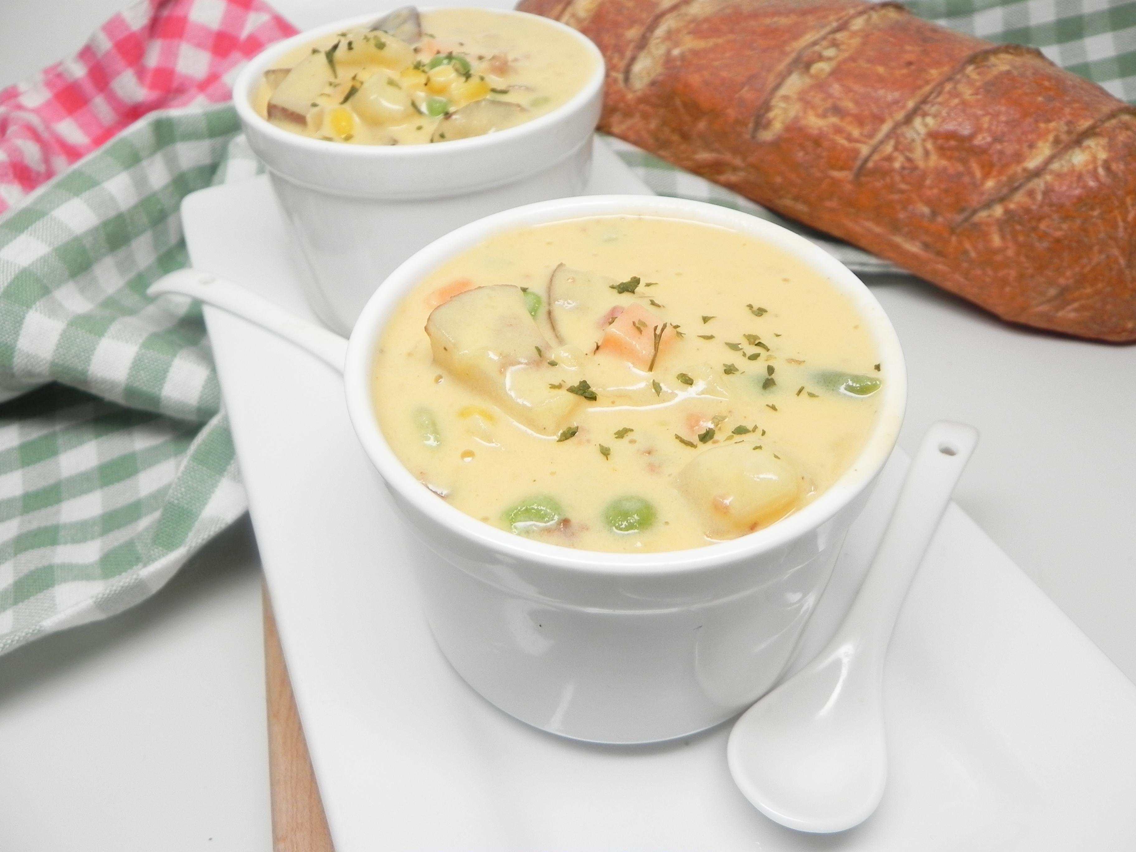Vegetable Cheese Soup II JARRELL