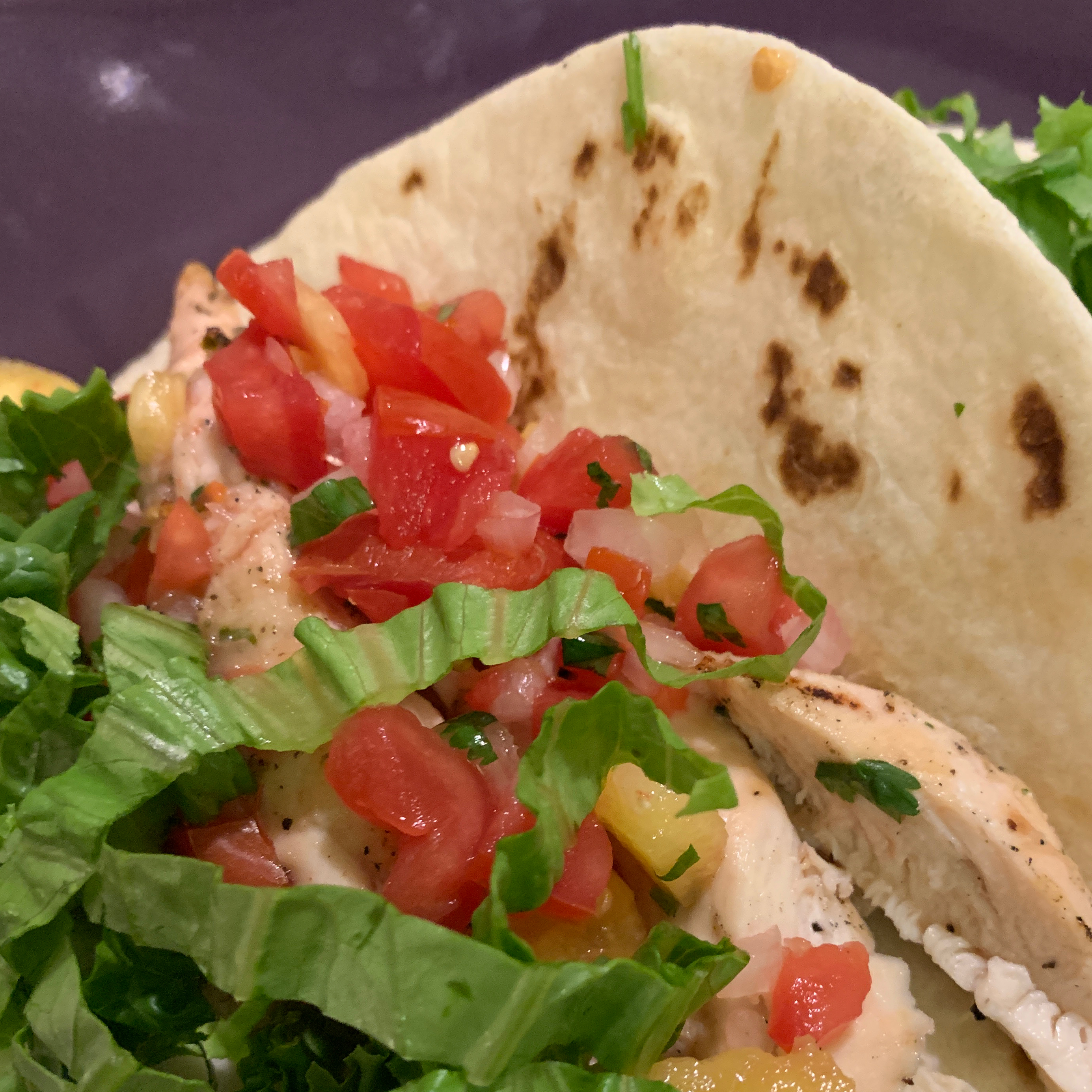 Chicken Tacos with Pineapple Salsa Michael Hill