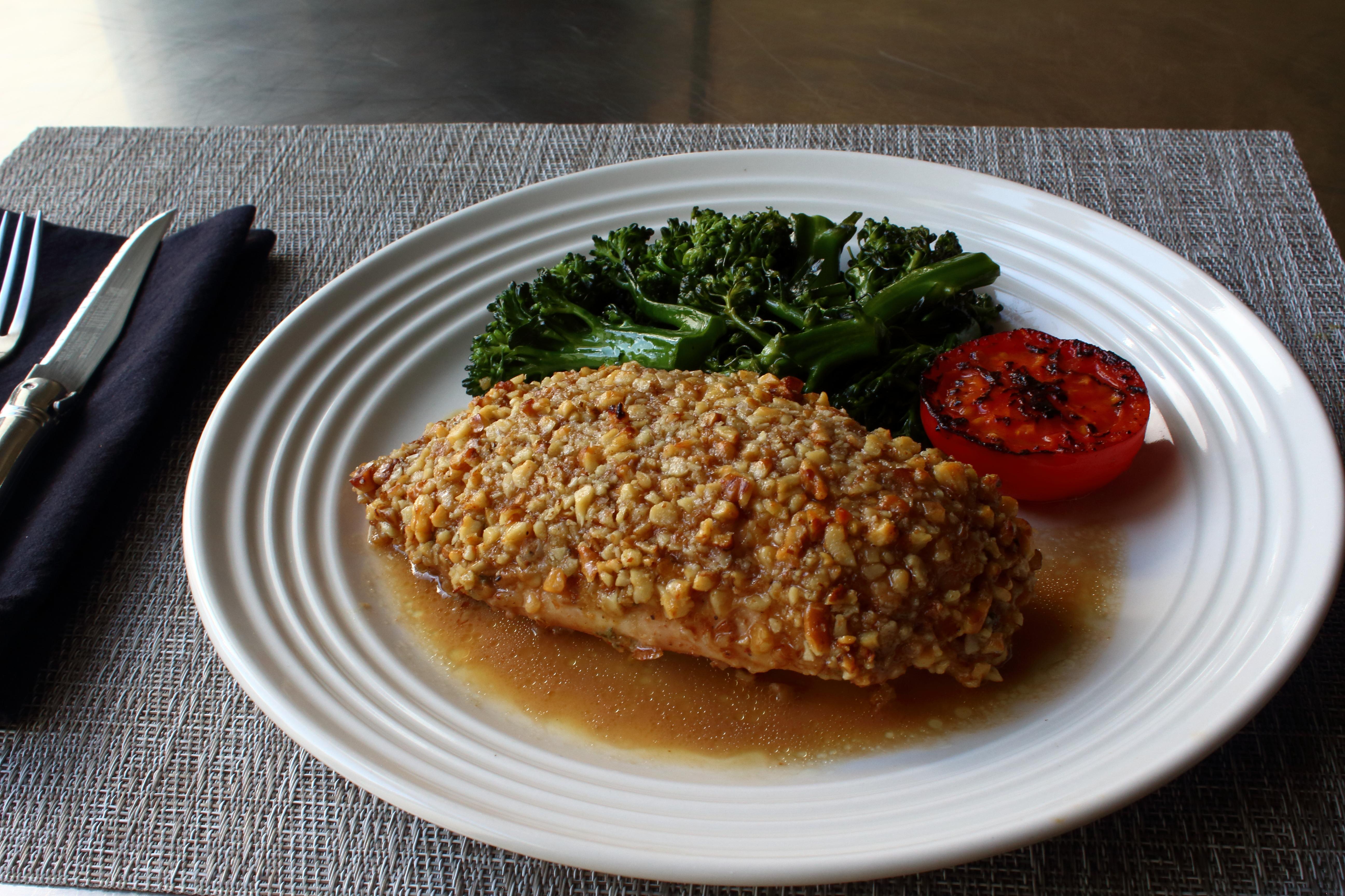 Walnut Crusted Chicken Breast Allrecipes