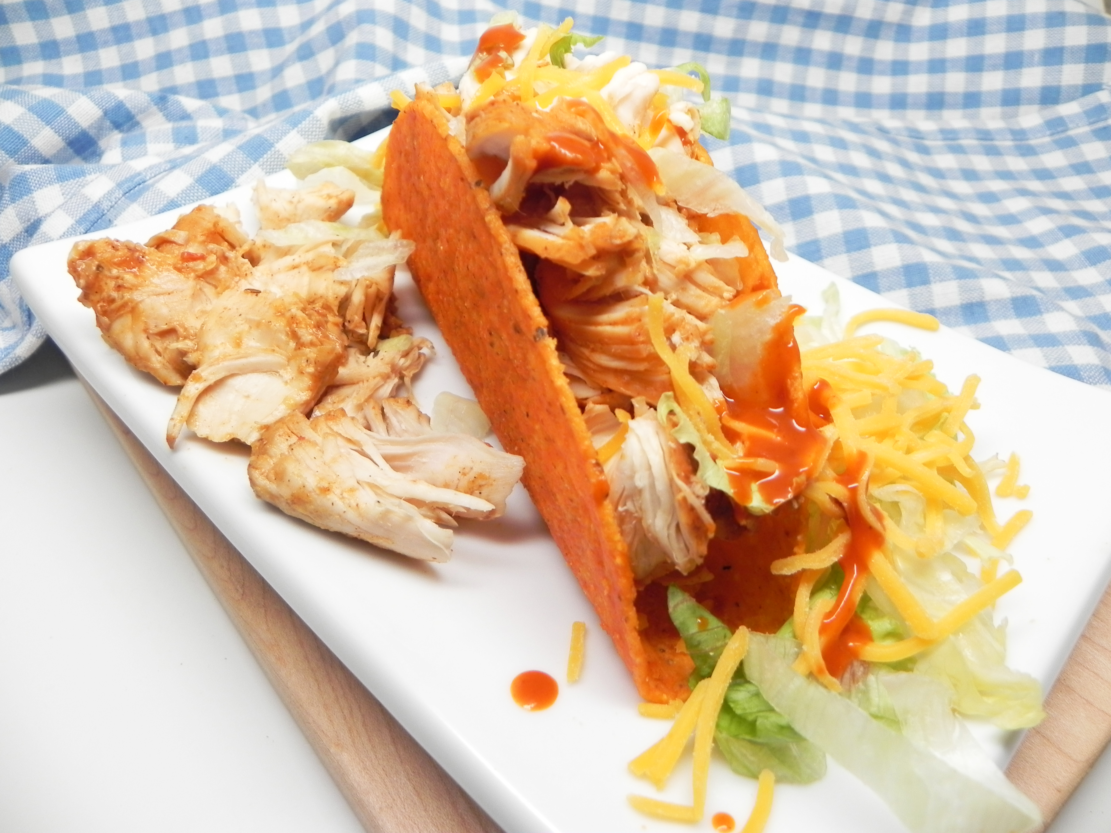Easy Slow Cooker Chicken Tacos Lilliansmommy
