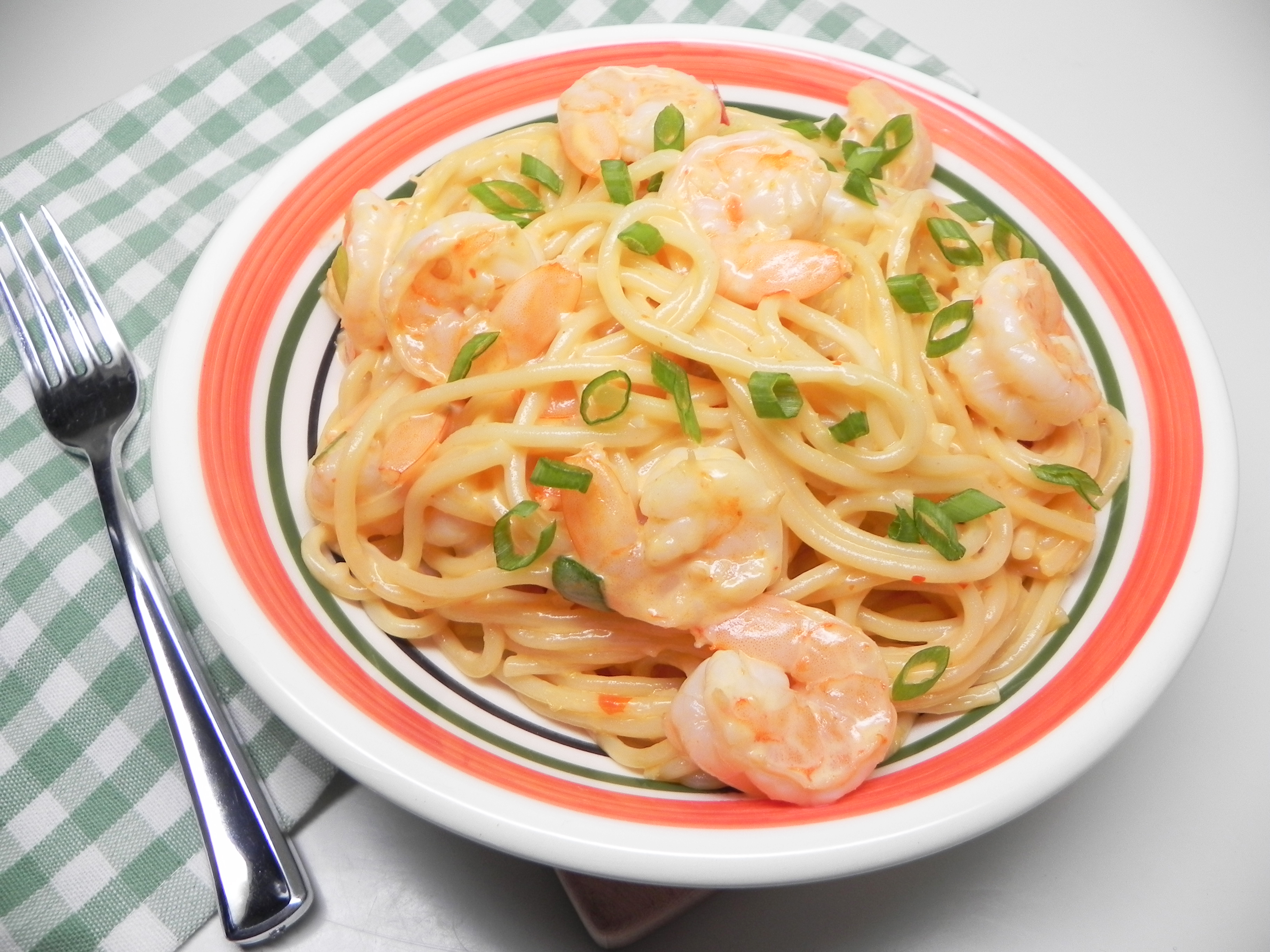 Instant Pot® Bang Bang Shrimp Pasta