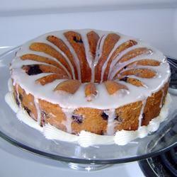 Blueberry Cream Cheese Pound Cake I